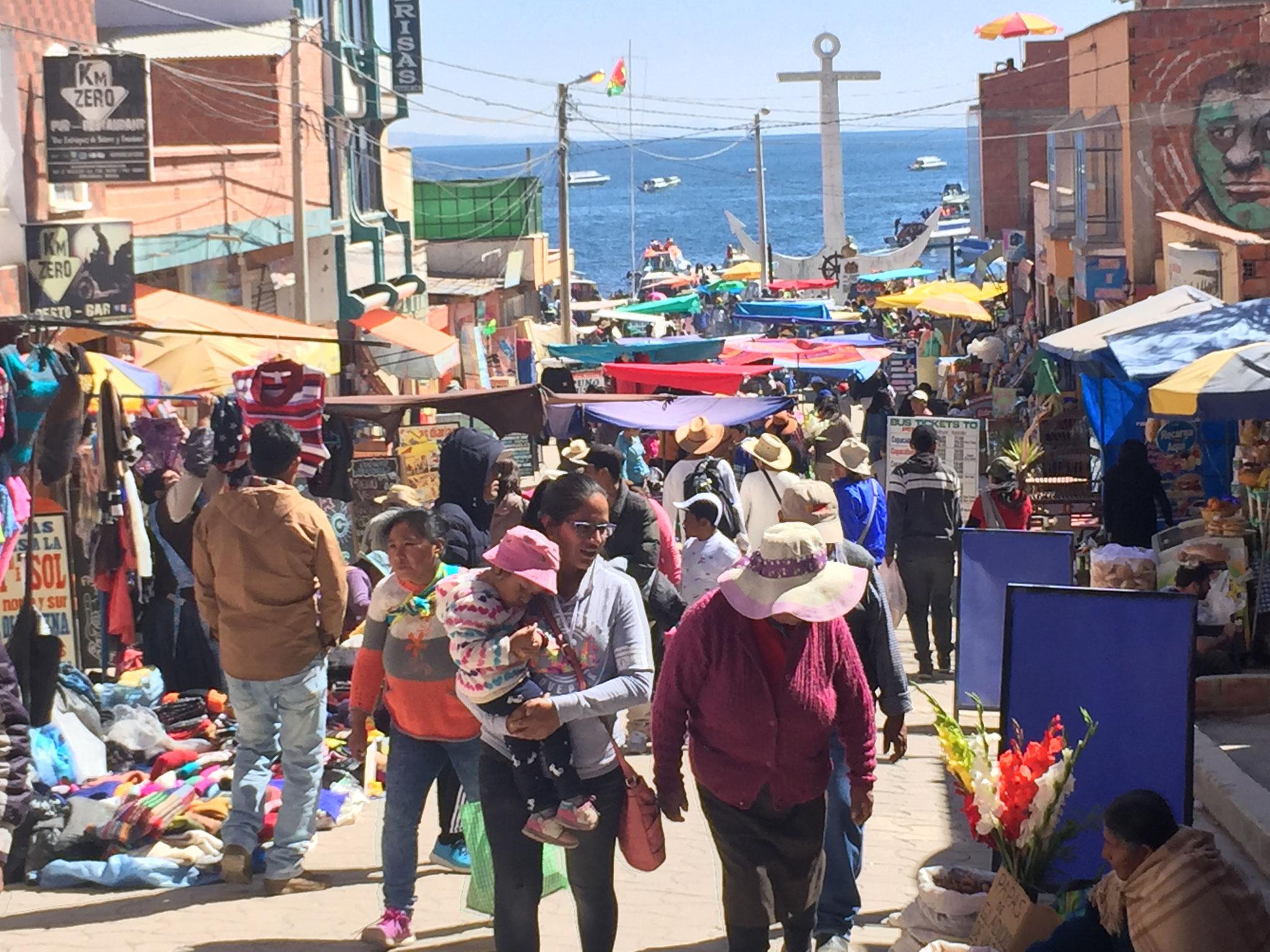 Markt in Copacabana