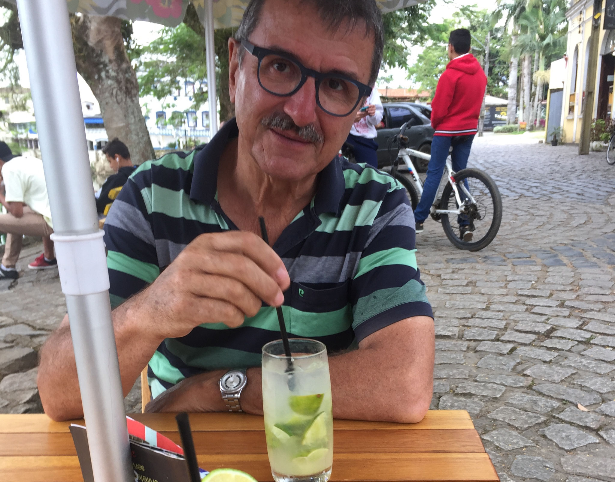 Ein Caipirinha