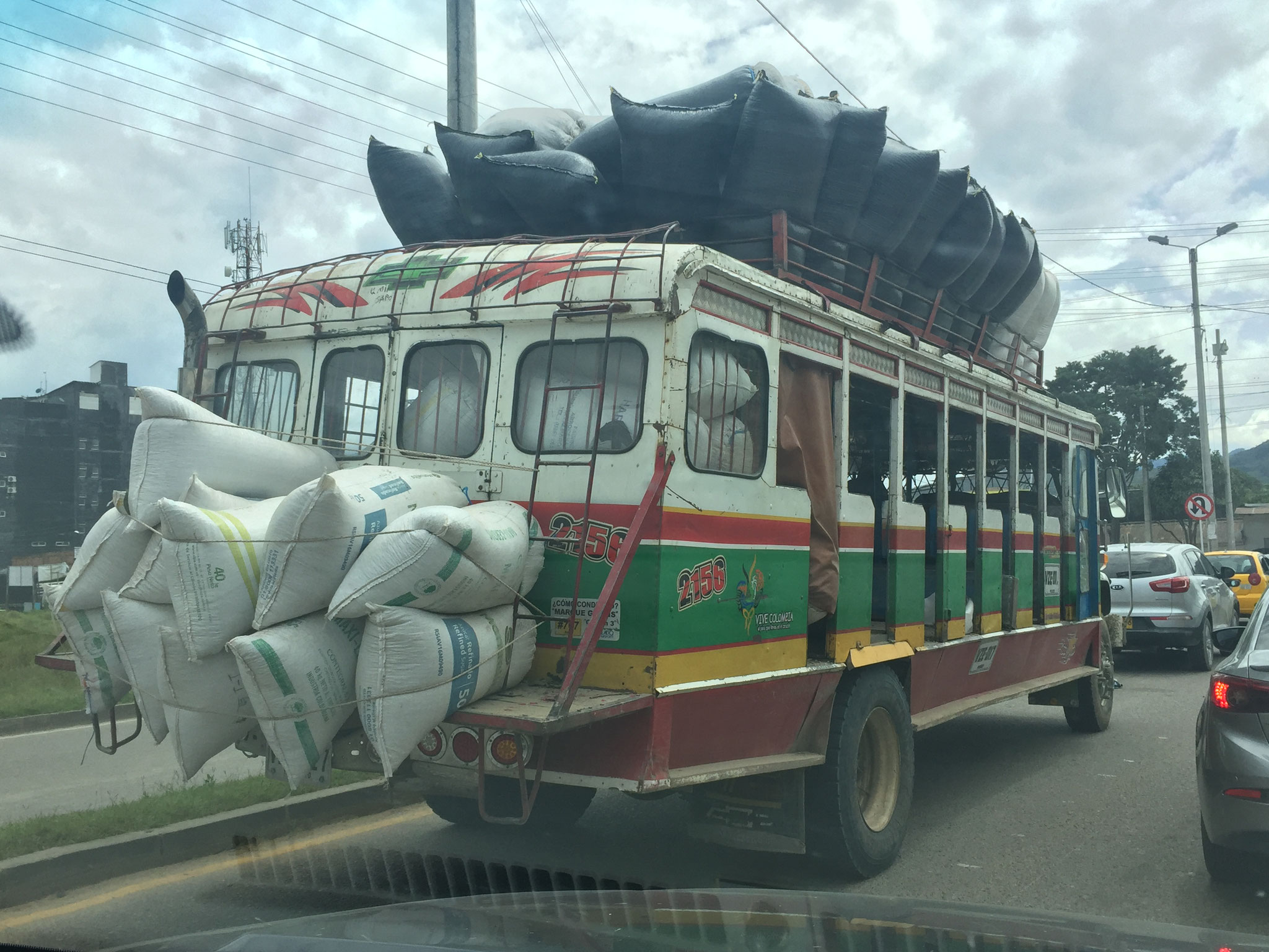 Die Busse sind einfach toll