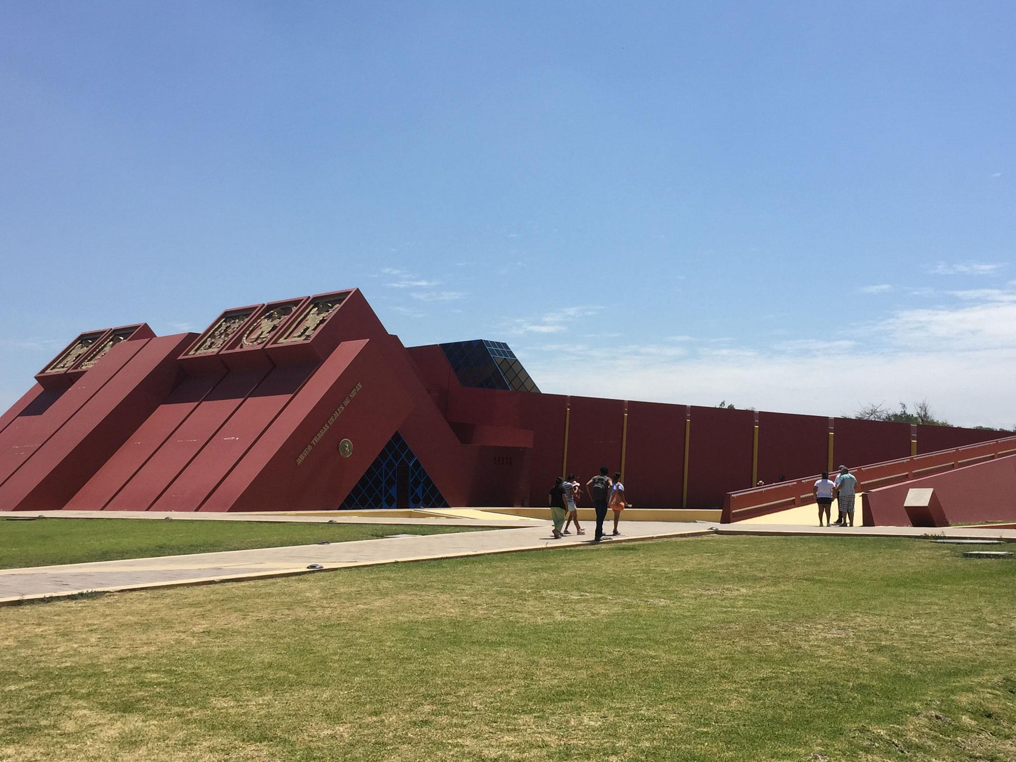 Museum Sipan, erstellt mit Hilfe der Schweiz