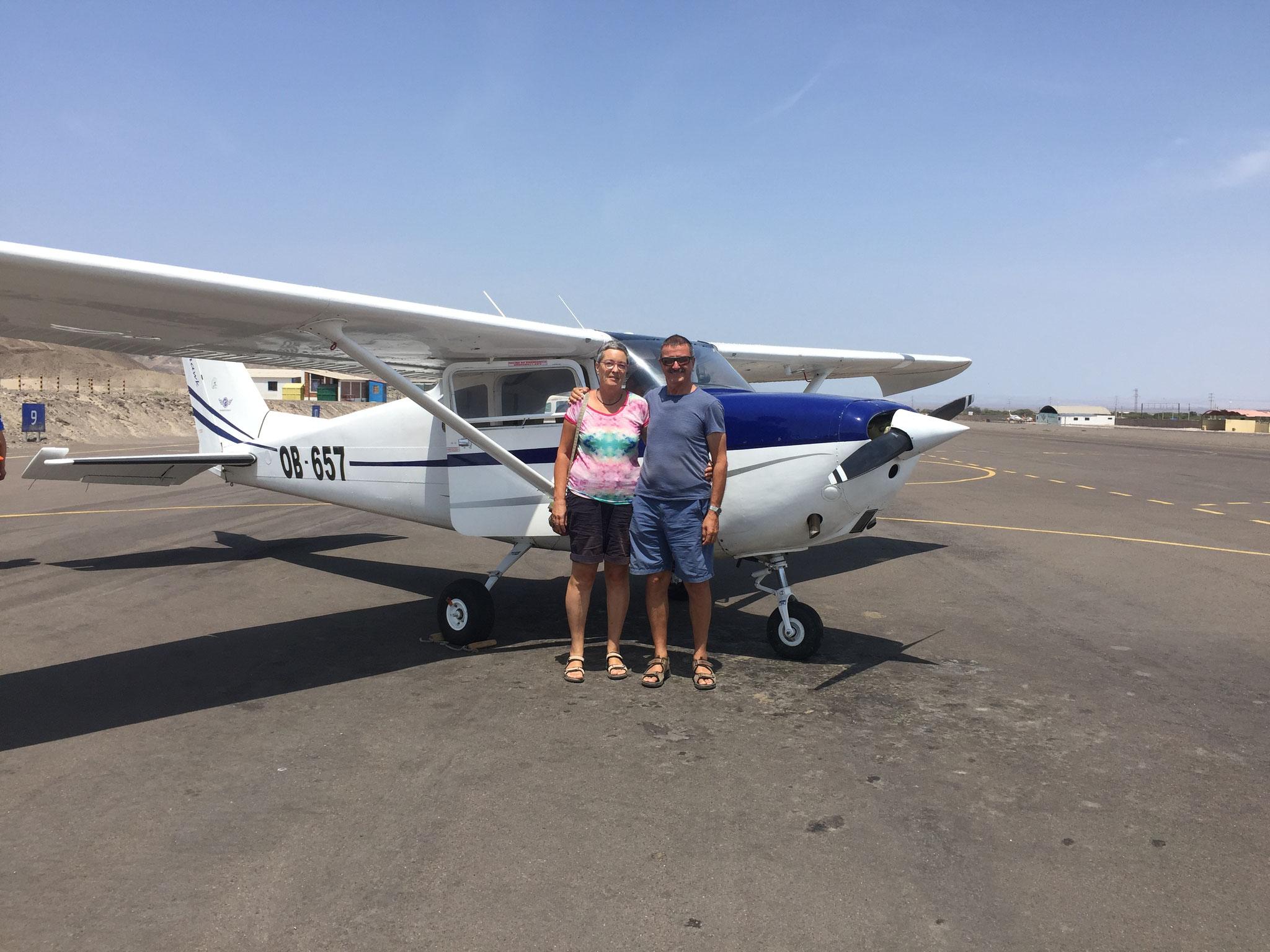Flug über die Nazcalinien
