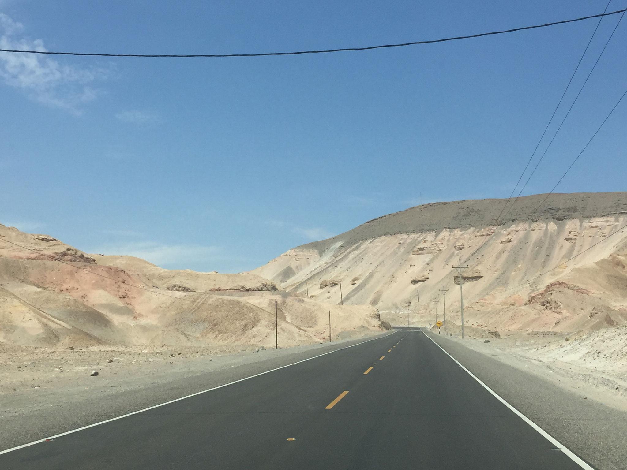 Weiterfahrt Richtung Arequipa