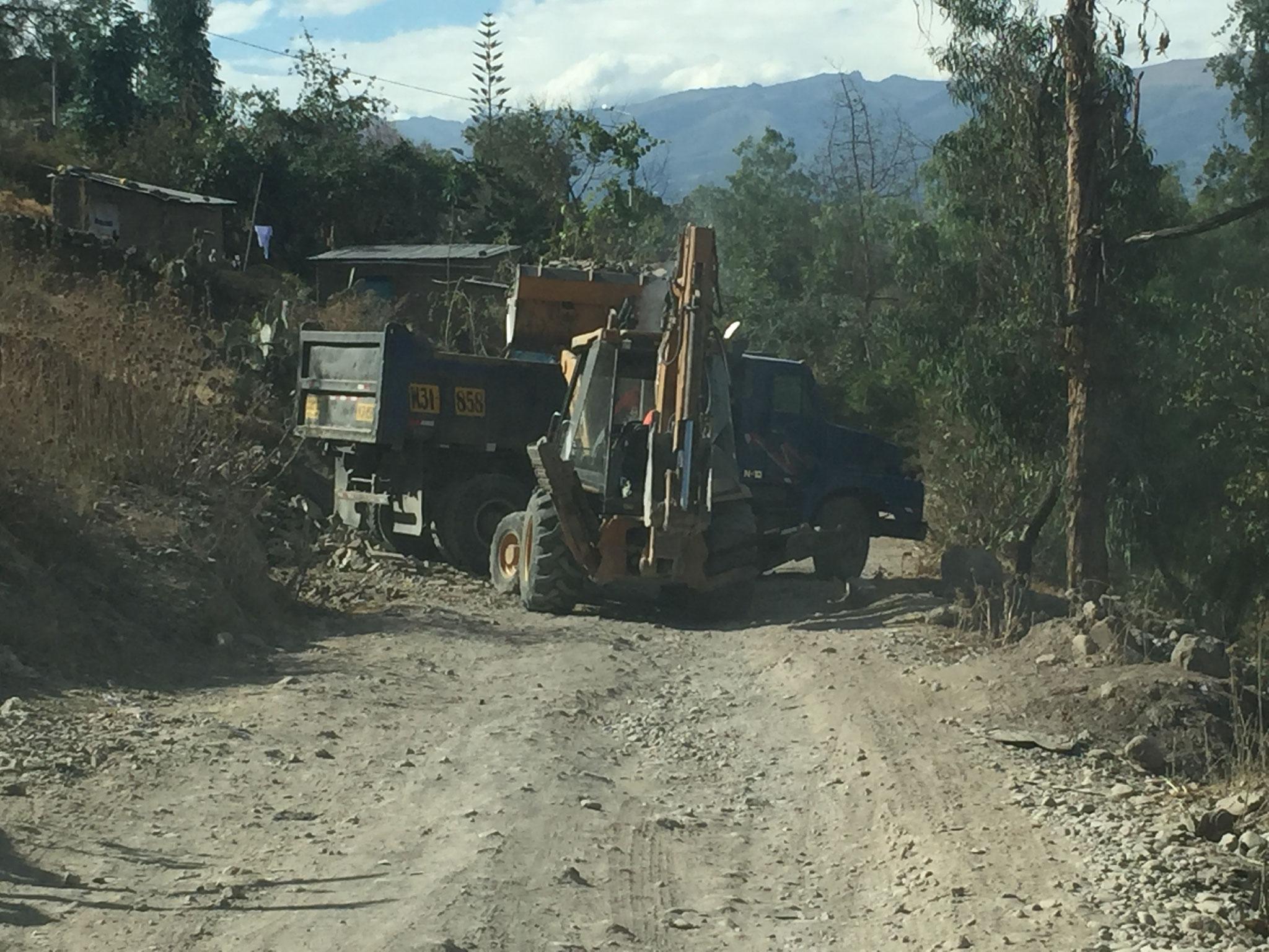 """Hauptstrasse"" in Ayacucho"