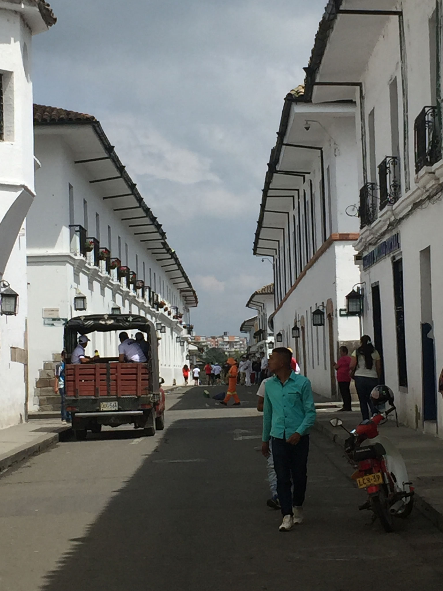 Gassen in Popayan......