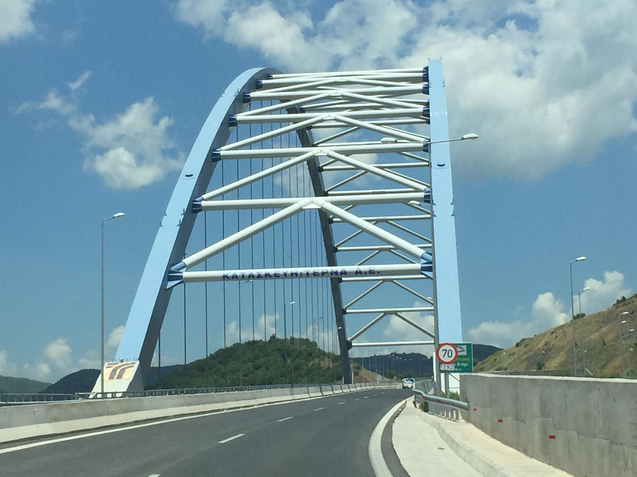 Brücke von der EU finanziert