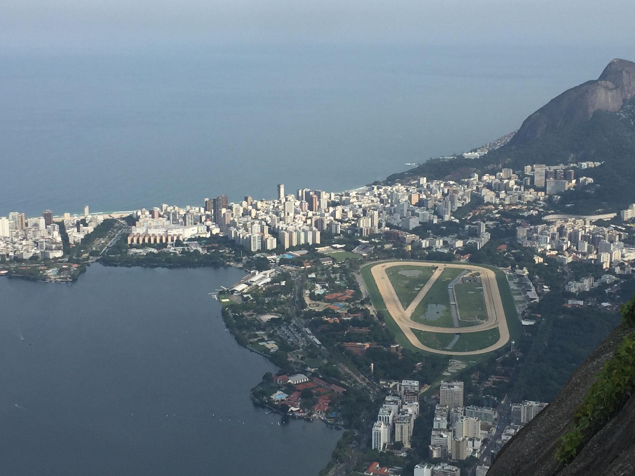 Aussicht auf Rio vom Cordoba
