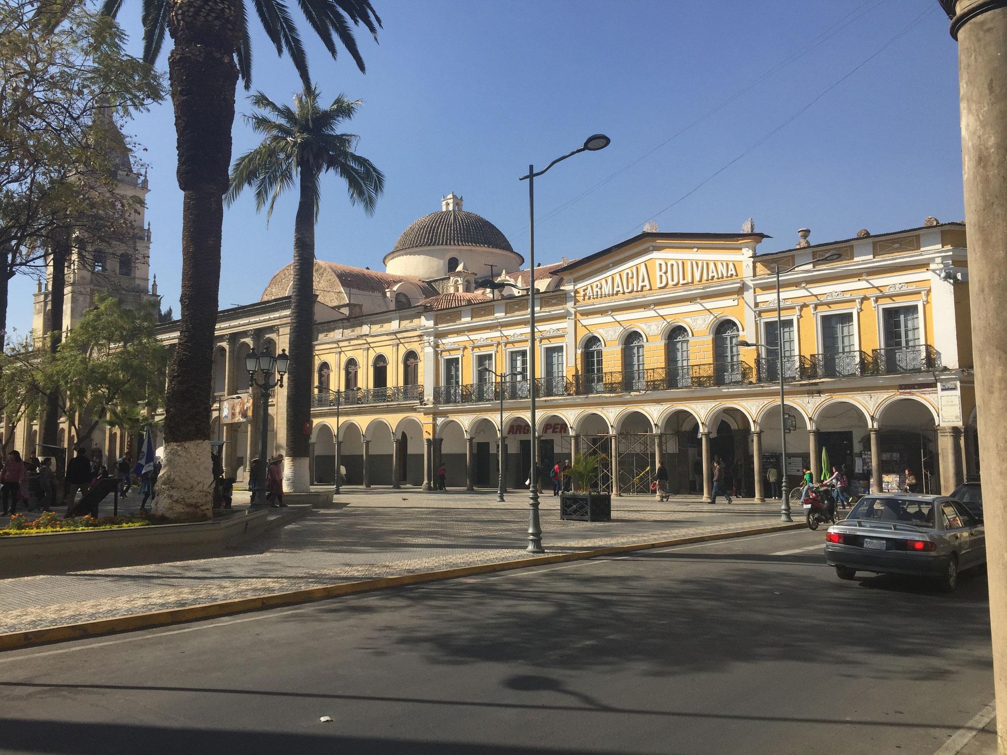 Zentralplatz Cochabamba