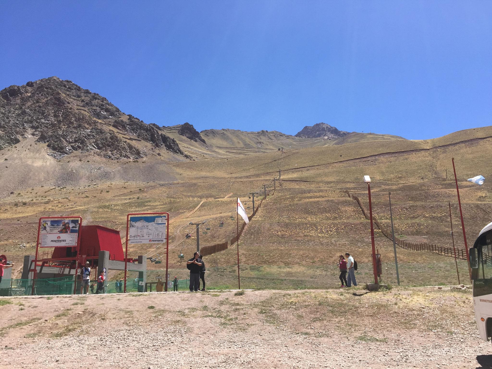 Ein Skiresort