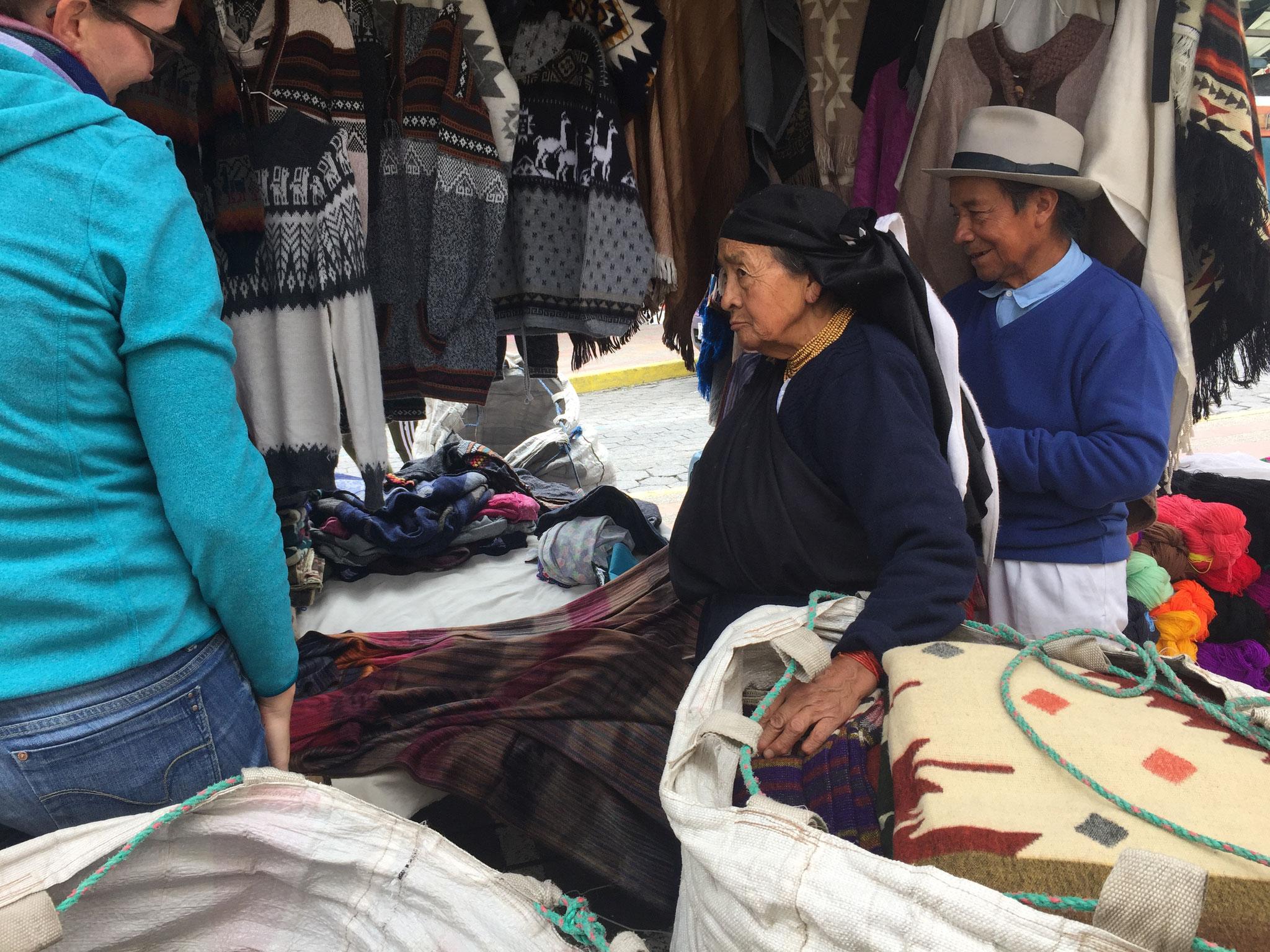Markt in Otawalo