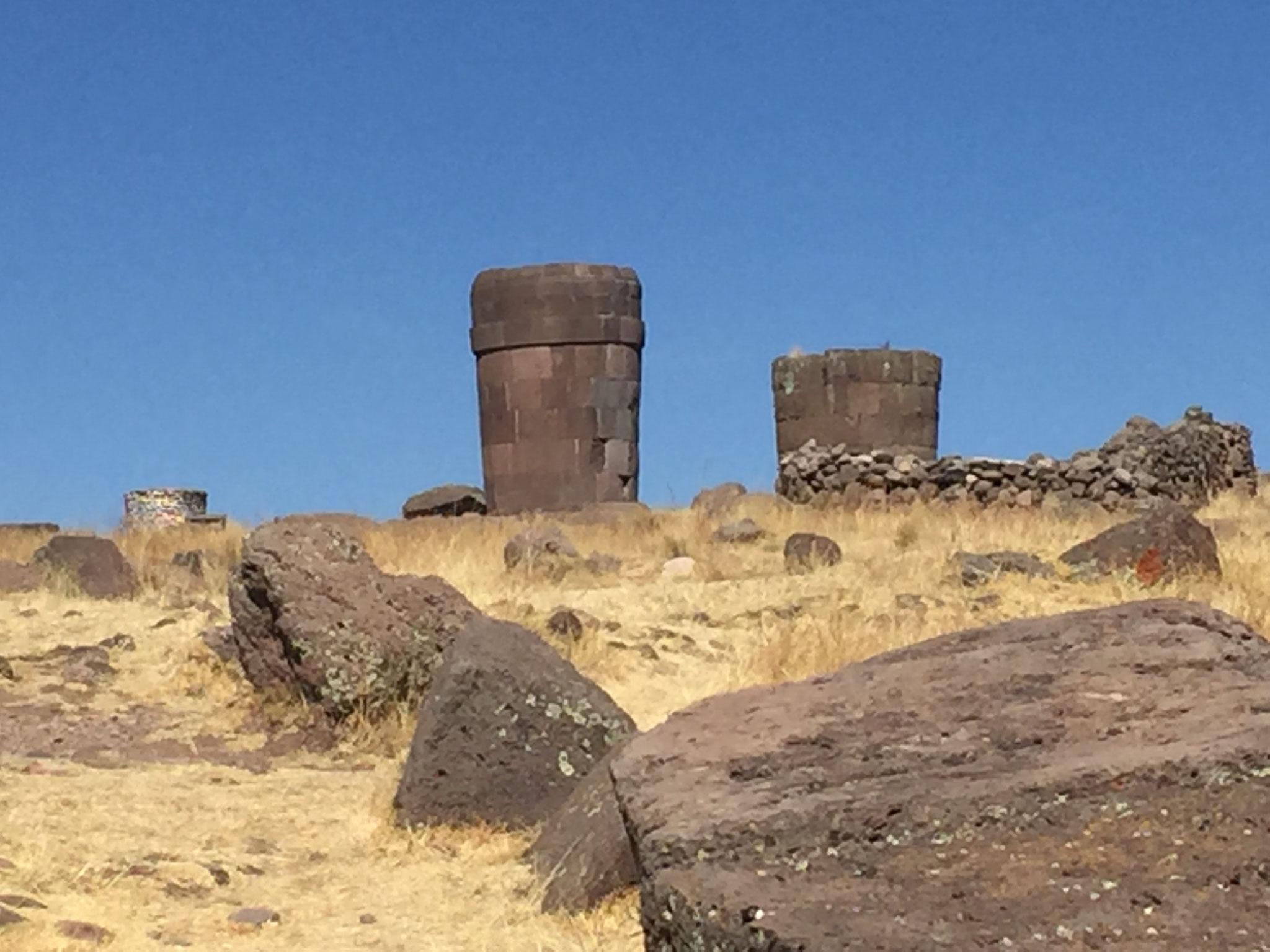 Die Grabkammern der Inka....
