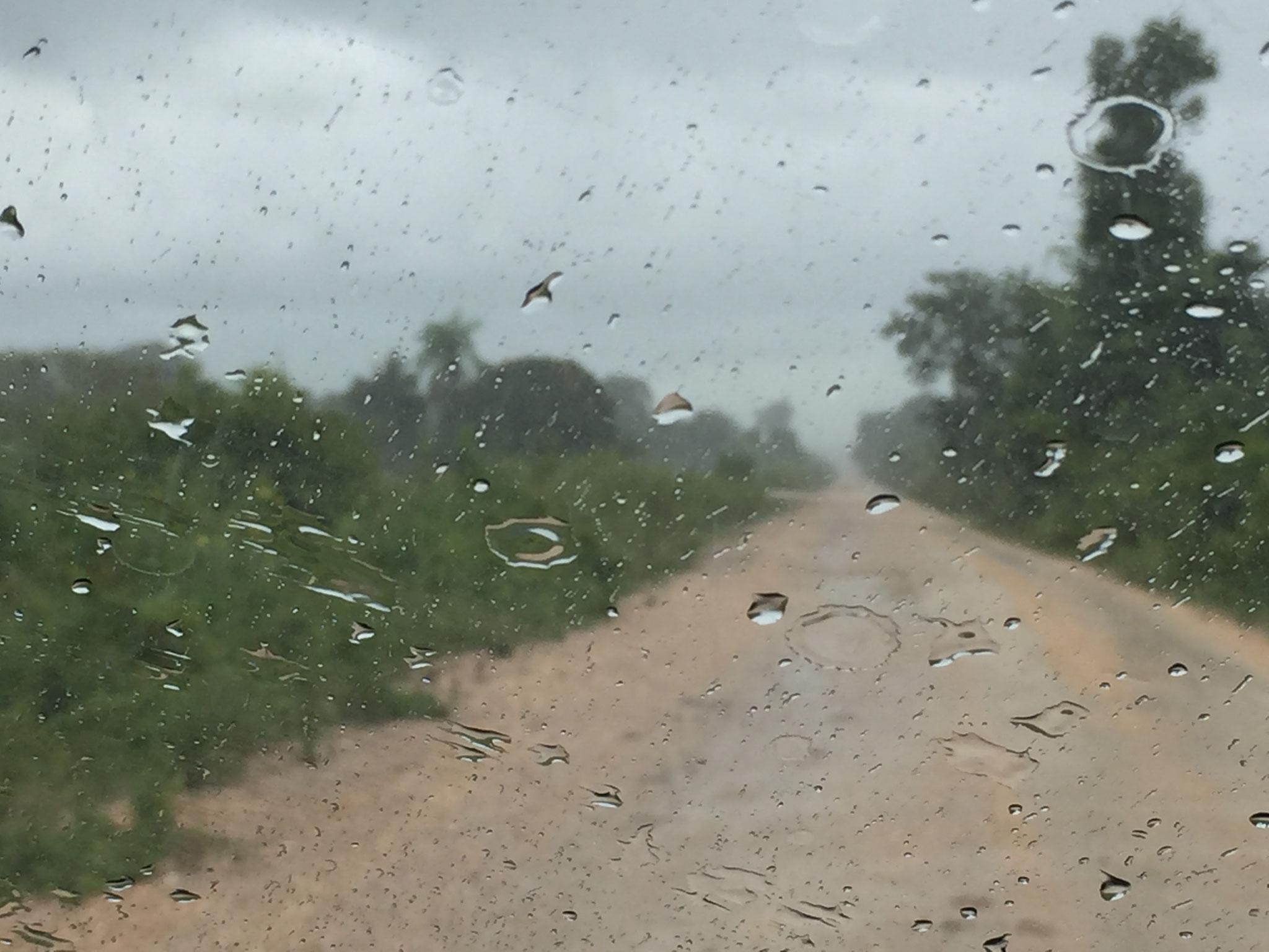 Plötzlich Regen