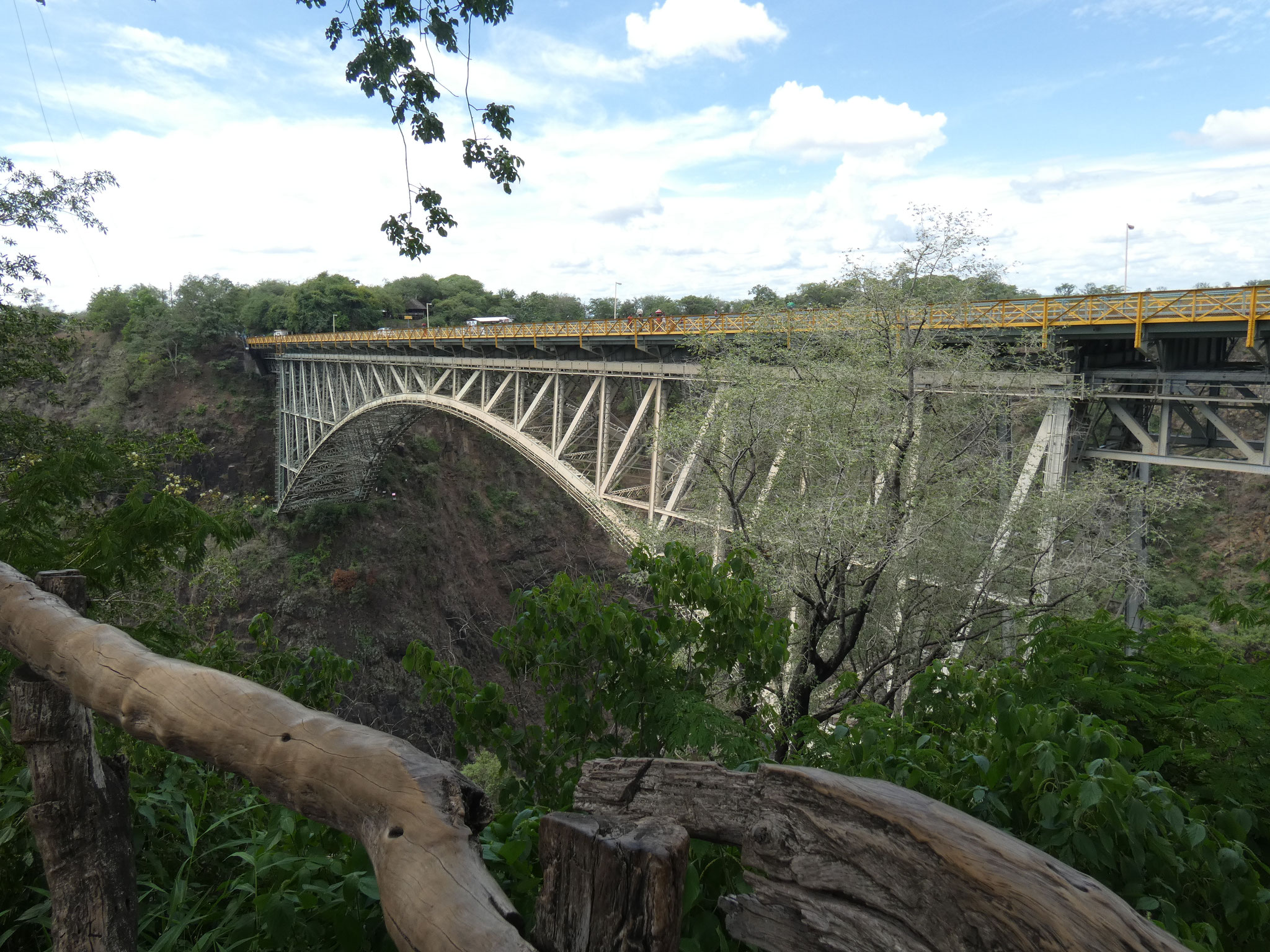 Brücke von Simbabwe nach Sambia