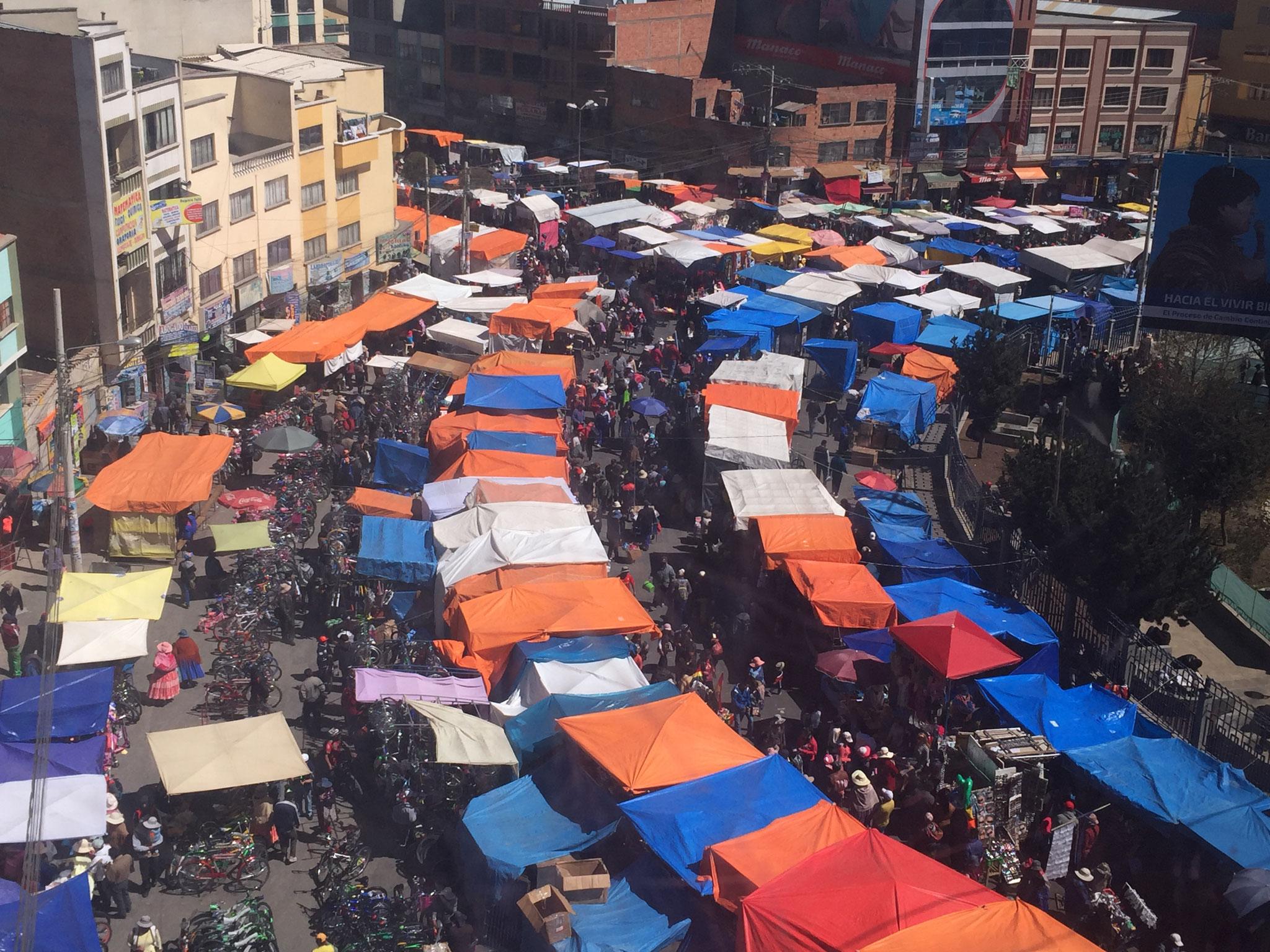 Sonntagsmarkt auf El Alto