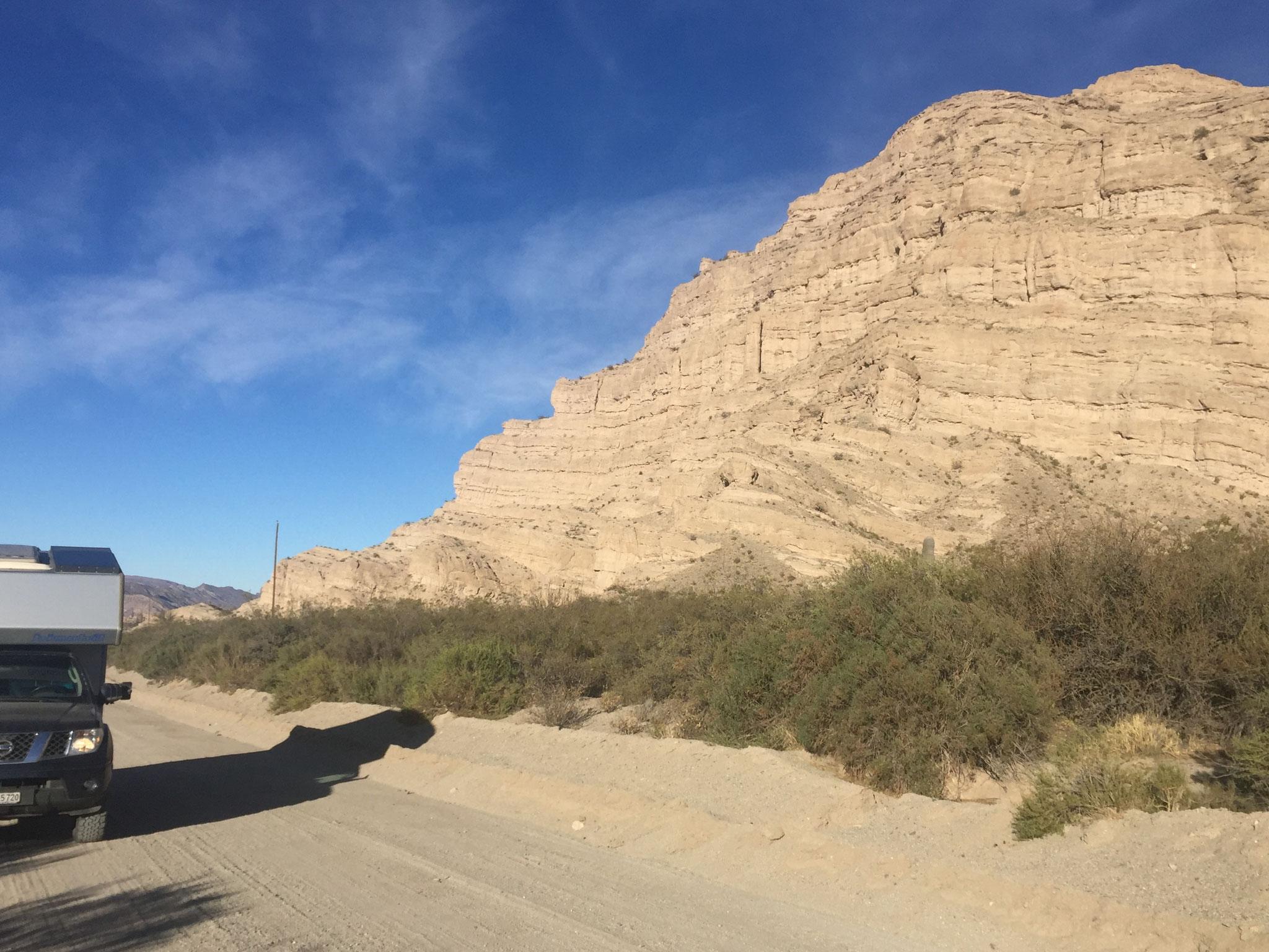 Ruta 43, Richtung El Penon
