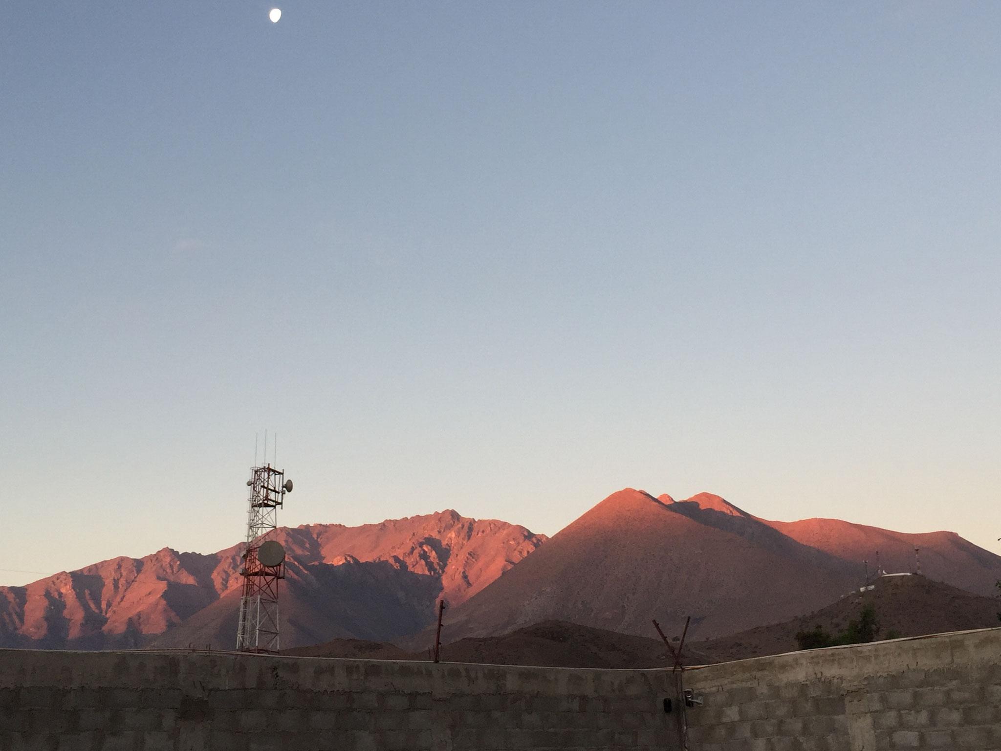 Sonnenuntergang in Vicuna...