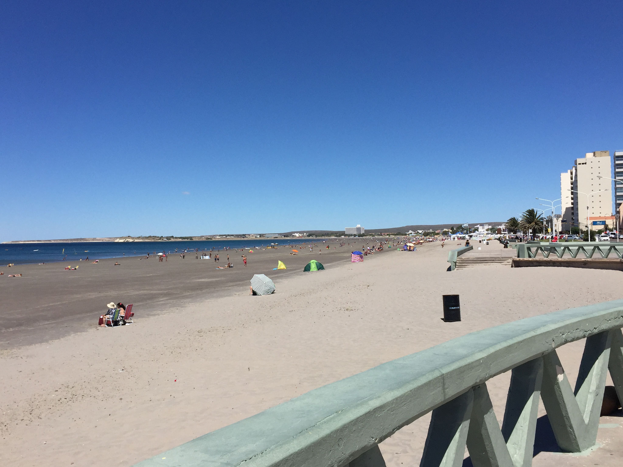 Strand in Puerto Madryn
