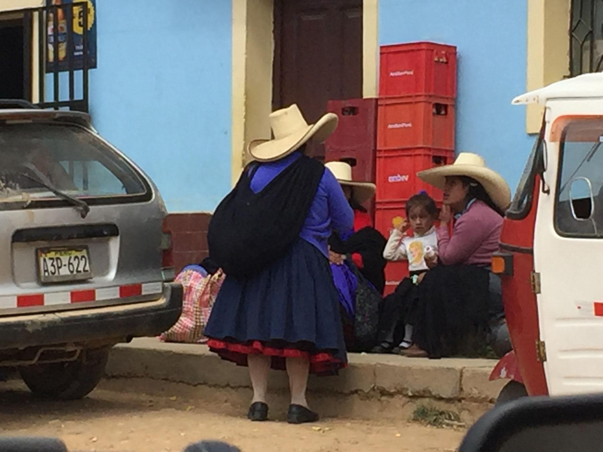Cajamarca, ander Hüte!