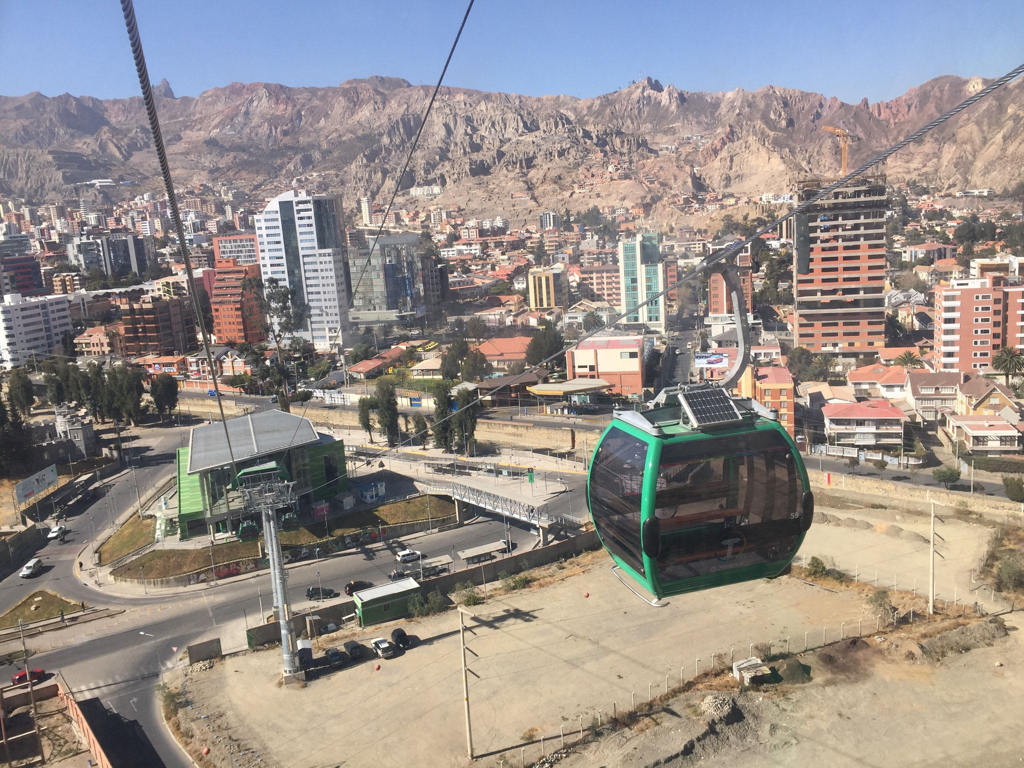 Gondelfahrten in La Paz