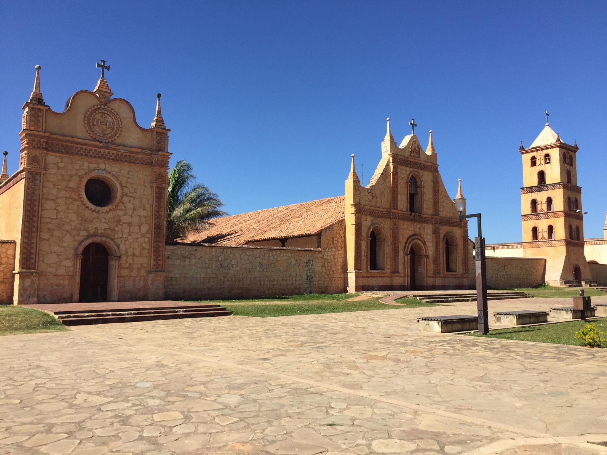Jesuitenkirche San José de Chipquitos.....