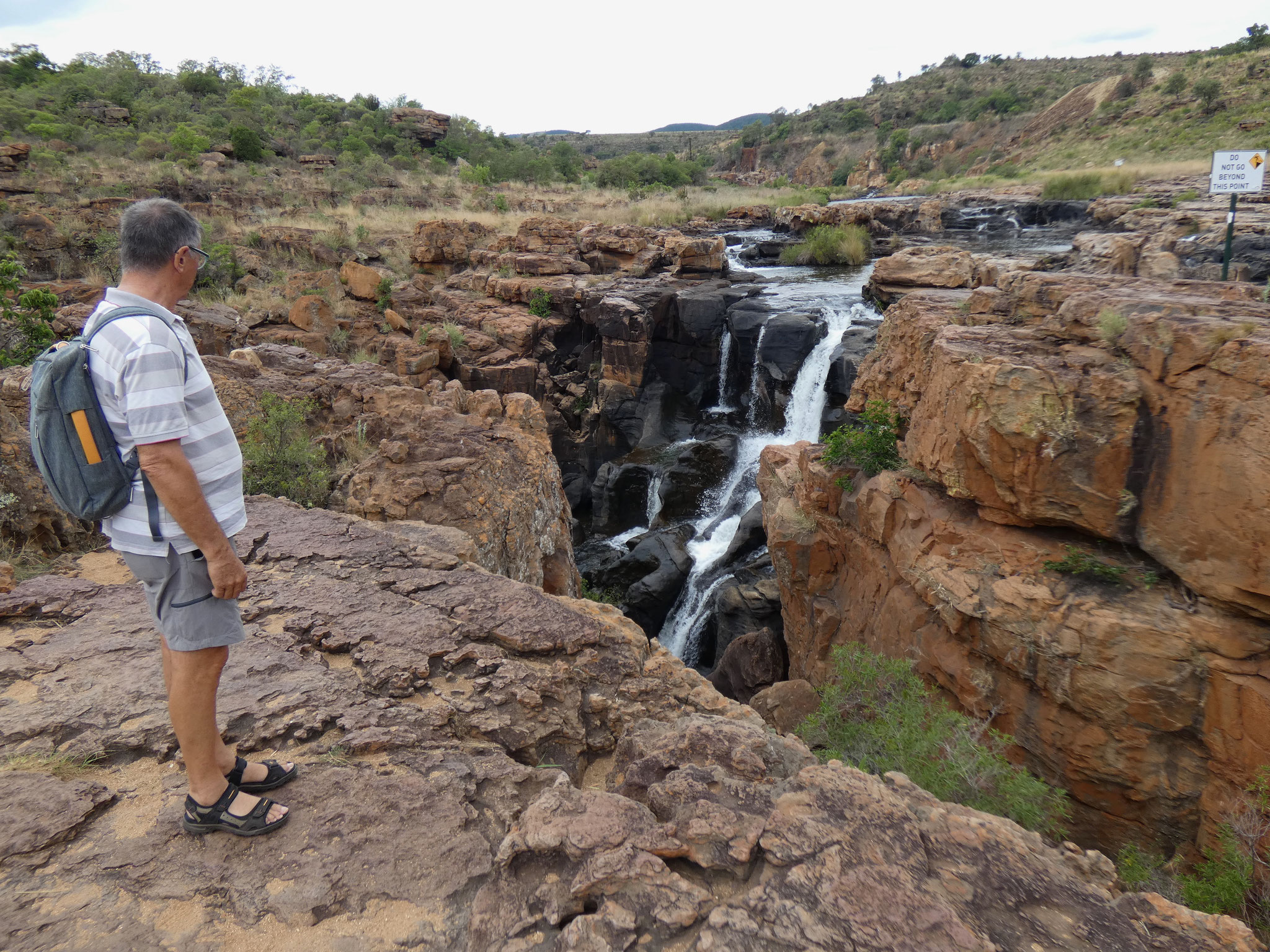 Wasserfall und Potholes am Blyde River