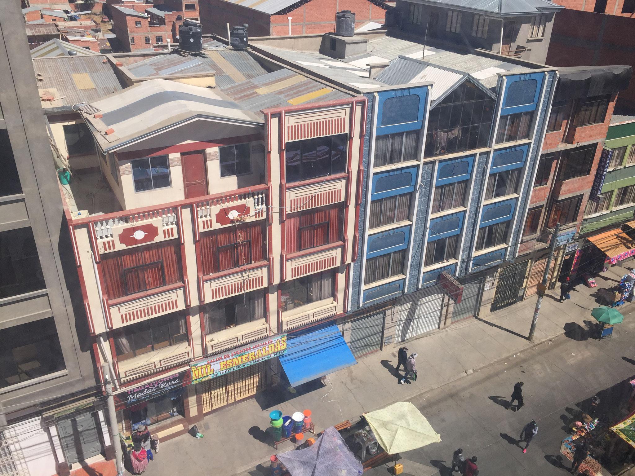 Bauweise auf El Alto