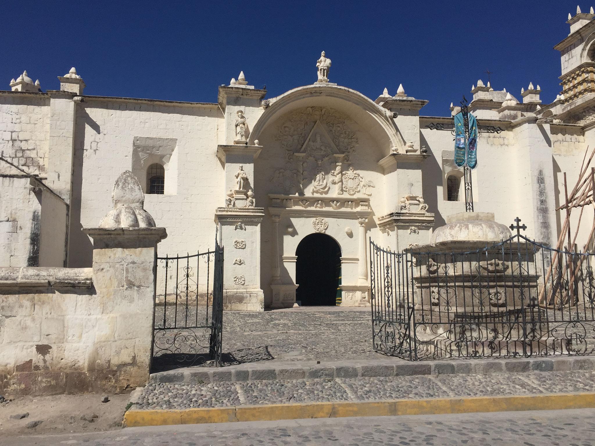 Kirche im Colcavalley