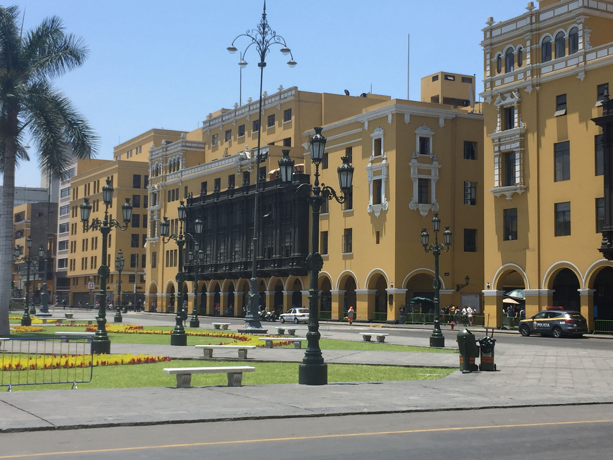Altstadt Lima, Plaza des Armes