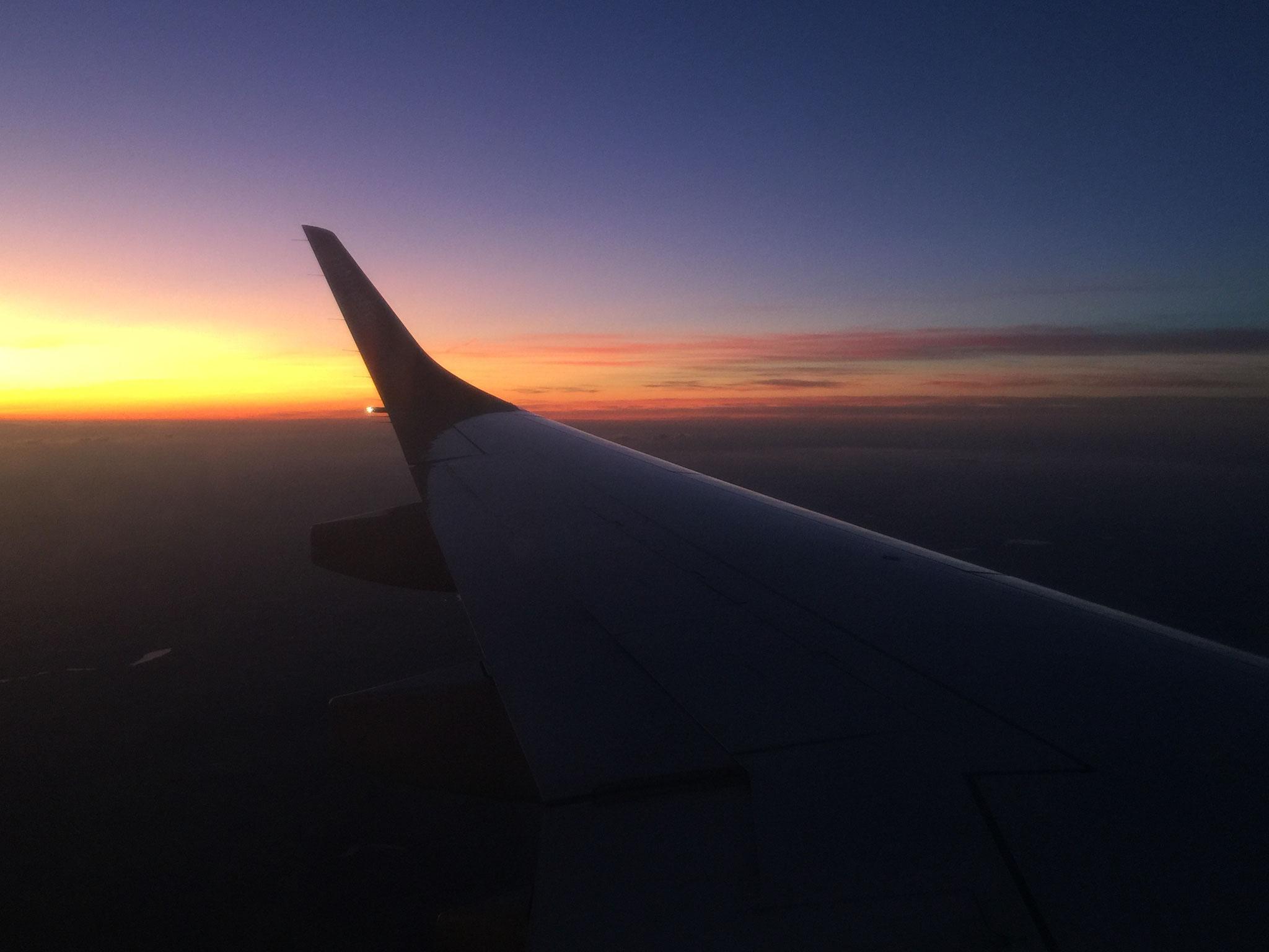 Flug nach München
