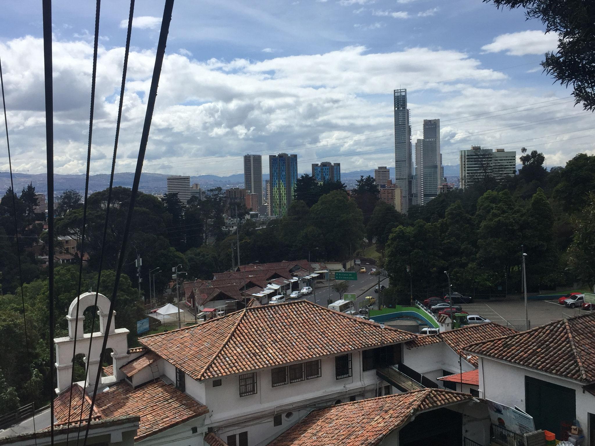 Sicht auf Bogota