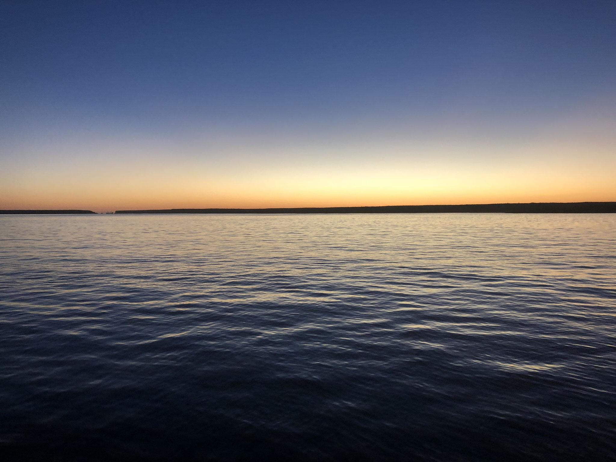 .... bei Sonnenaufgang