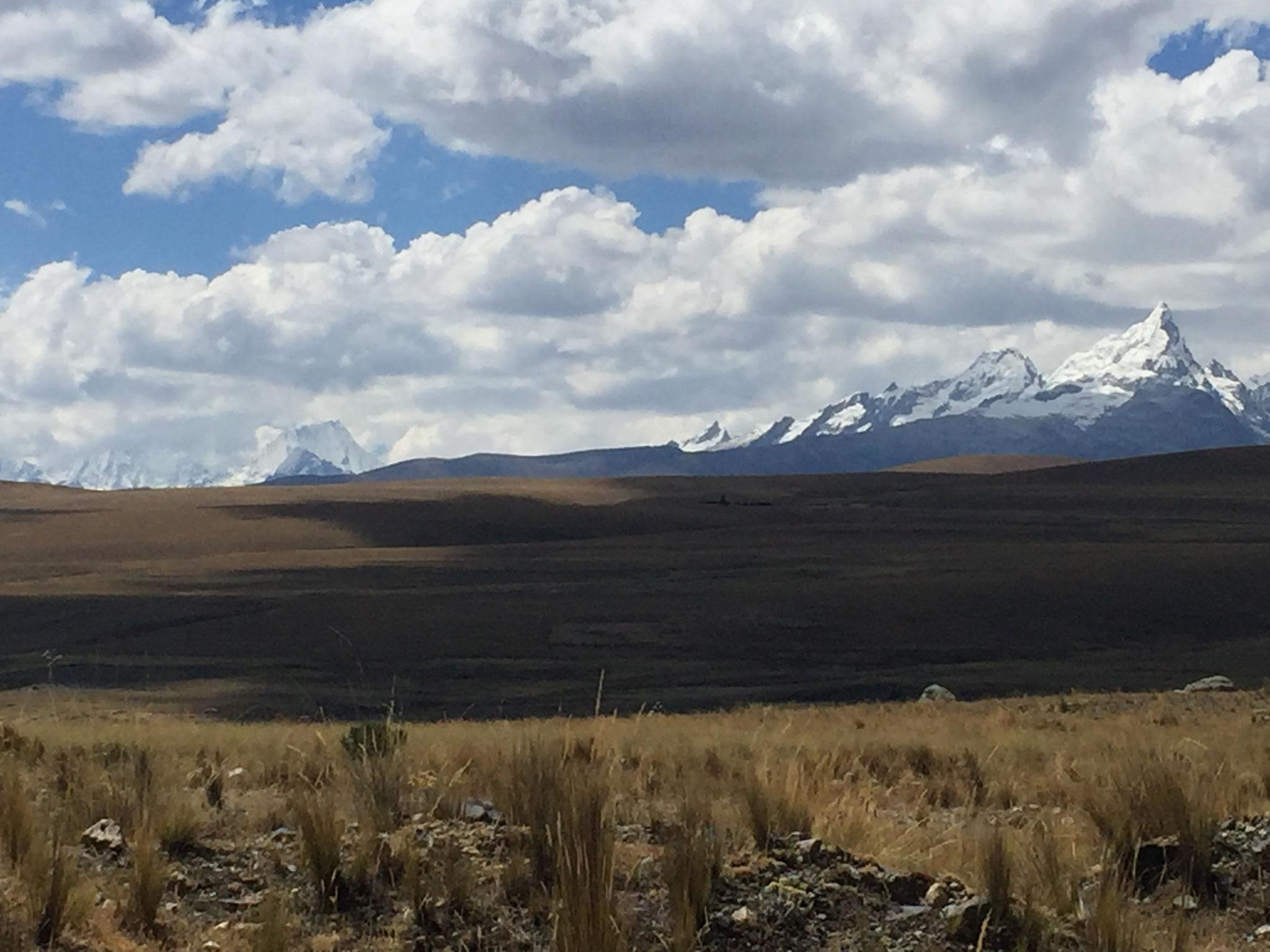 Blick auf die Cordillera Blanca