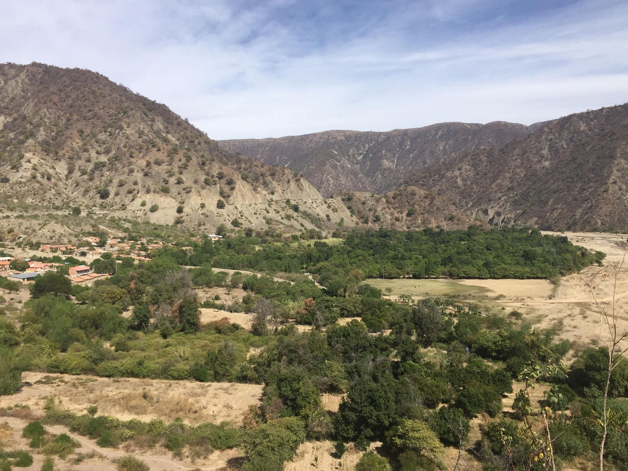 Weg Richtung Cochabamba
