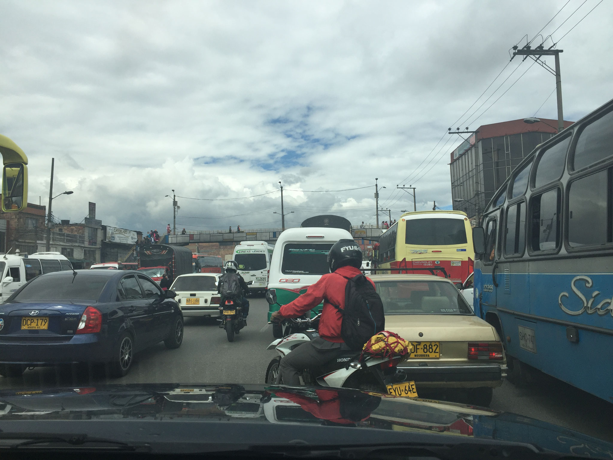 Bogota und der Verkehr