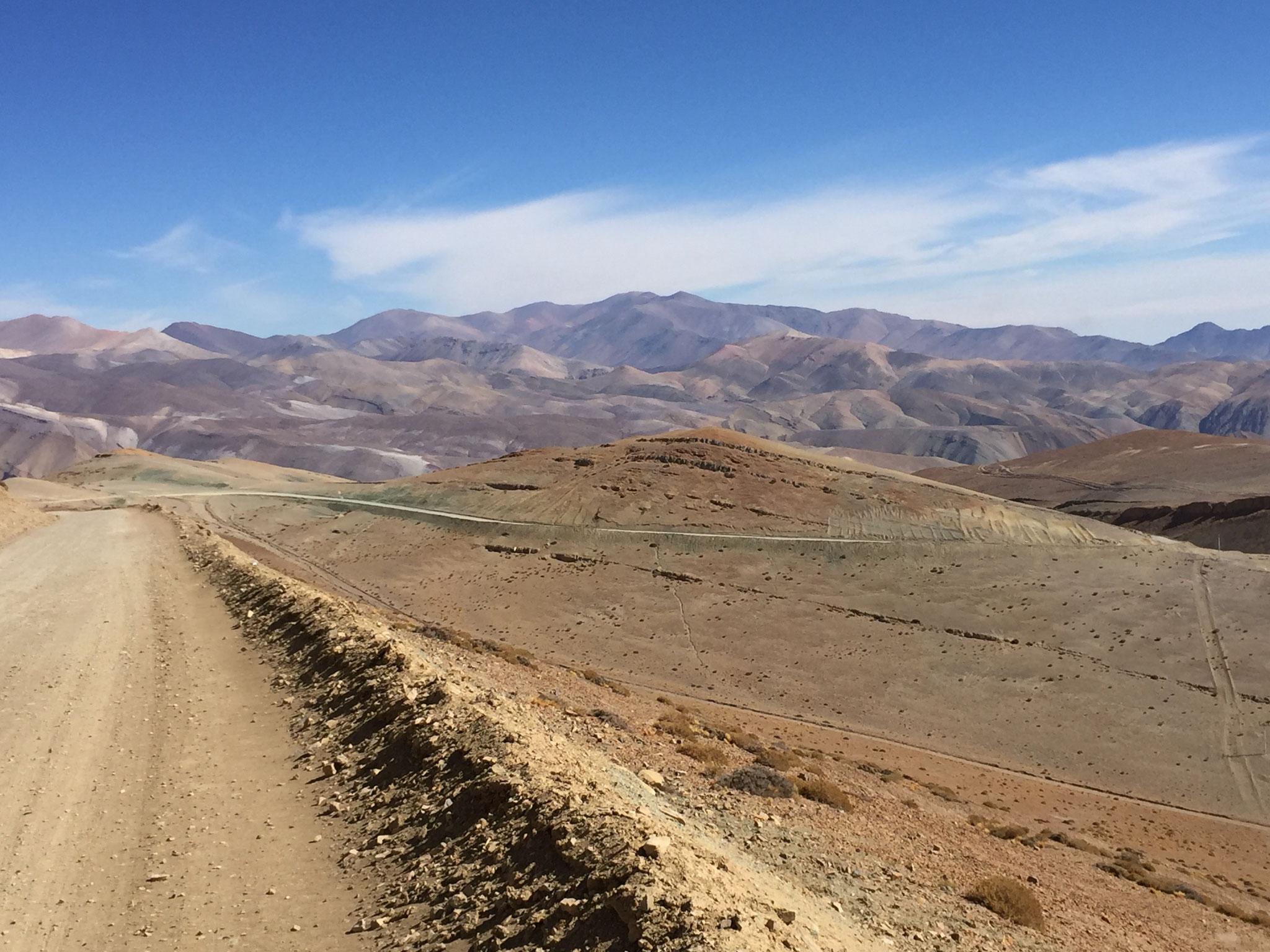 4200m hoch Richtung El S Salvador