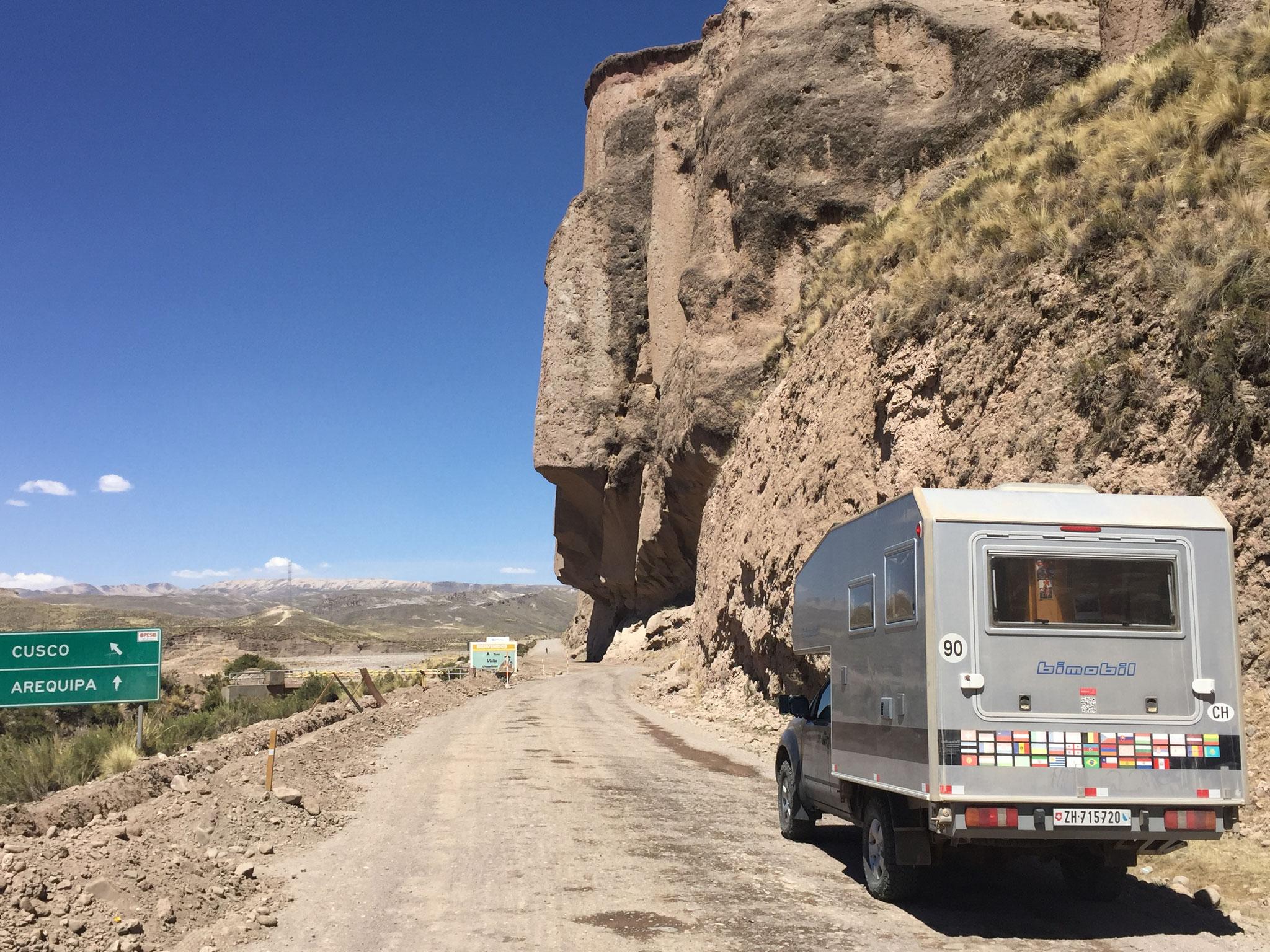 Richtung Cusco