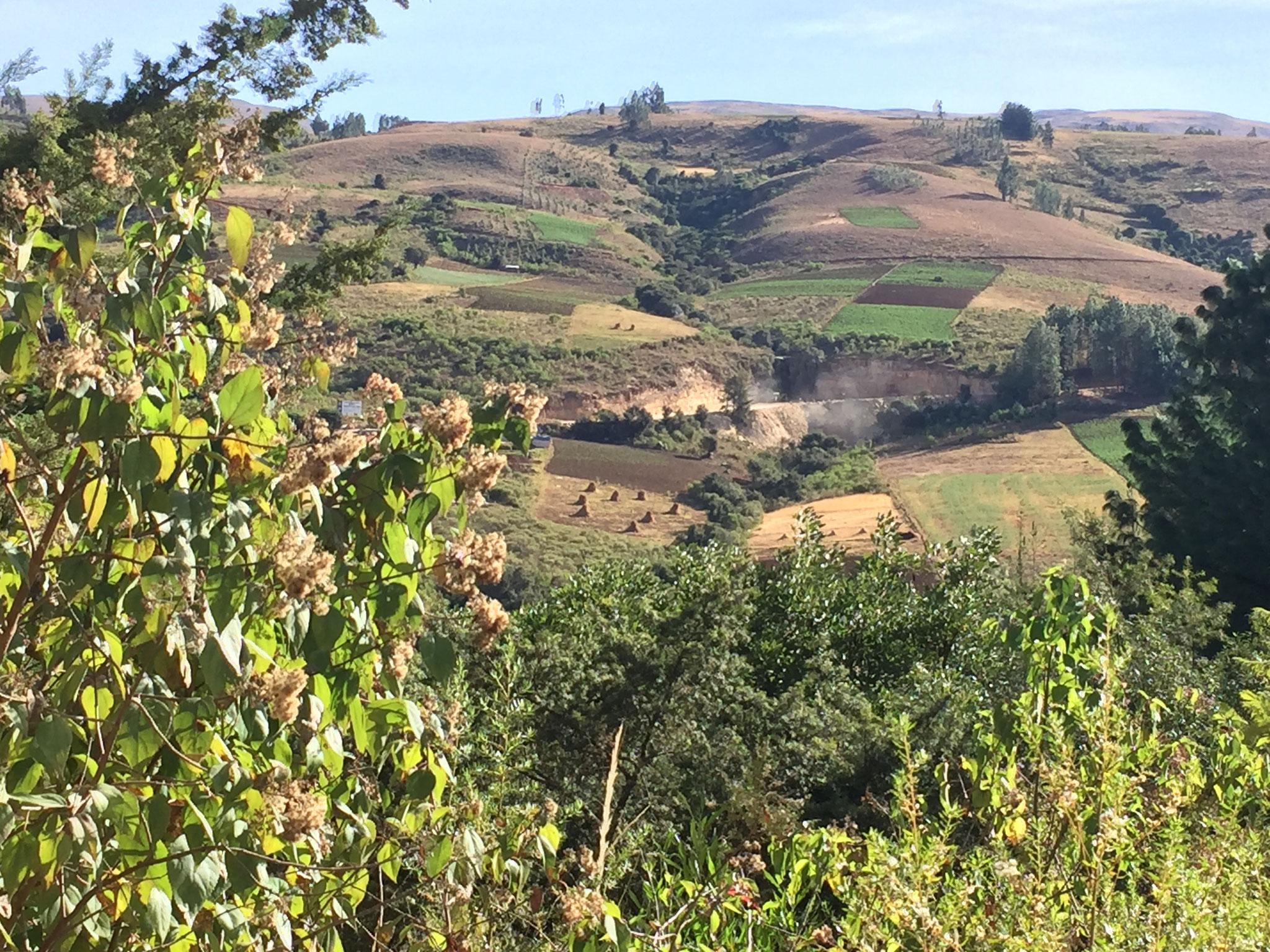 Richtung Chochabamba