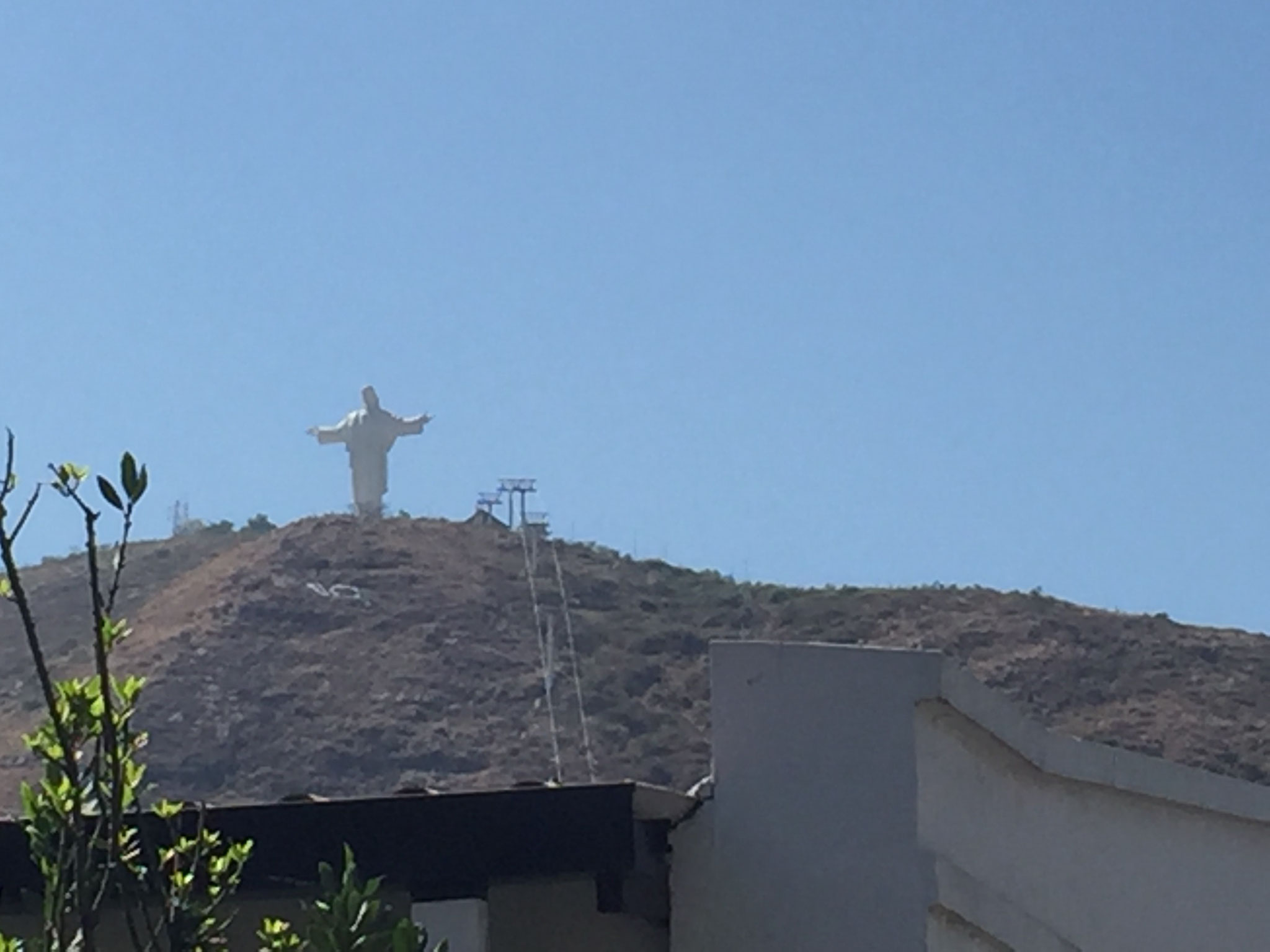 Statue in Cochabamba