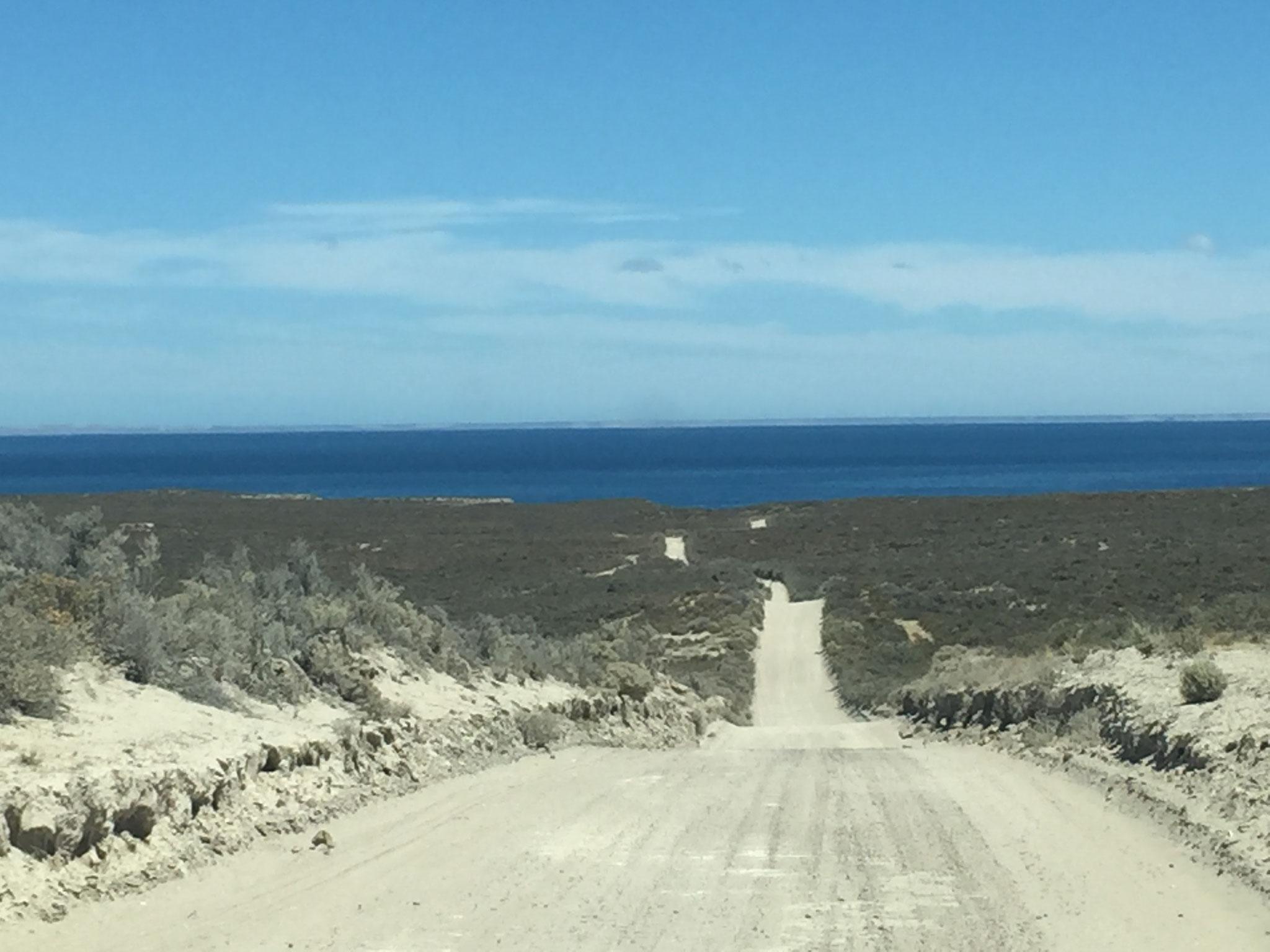 Weg nach Punta Perdales