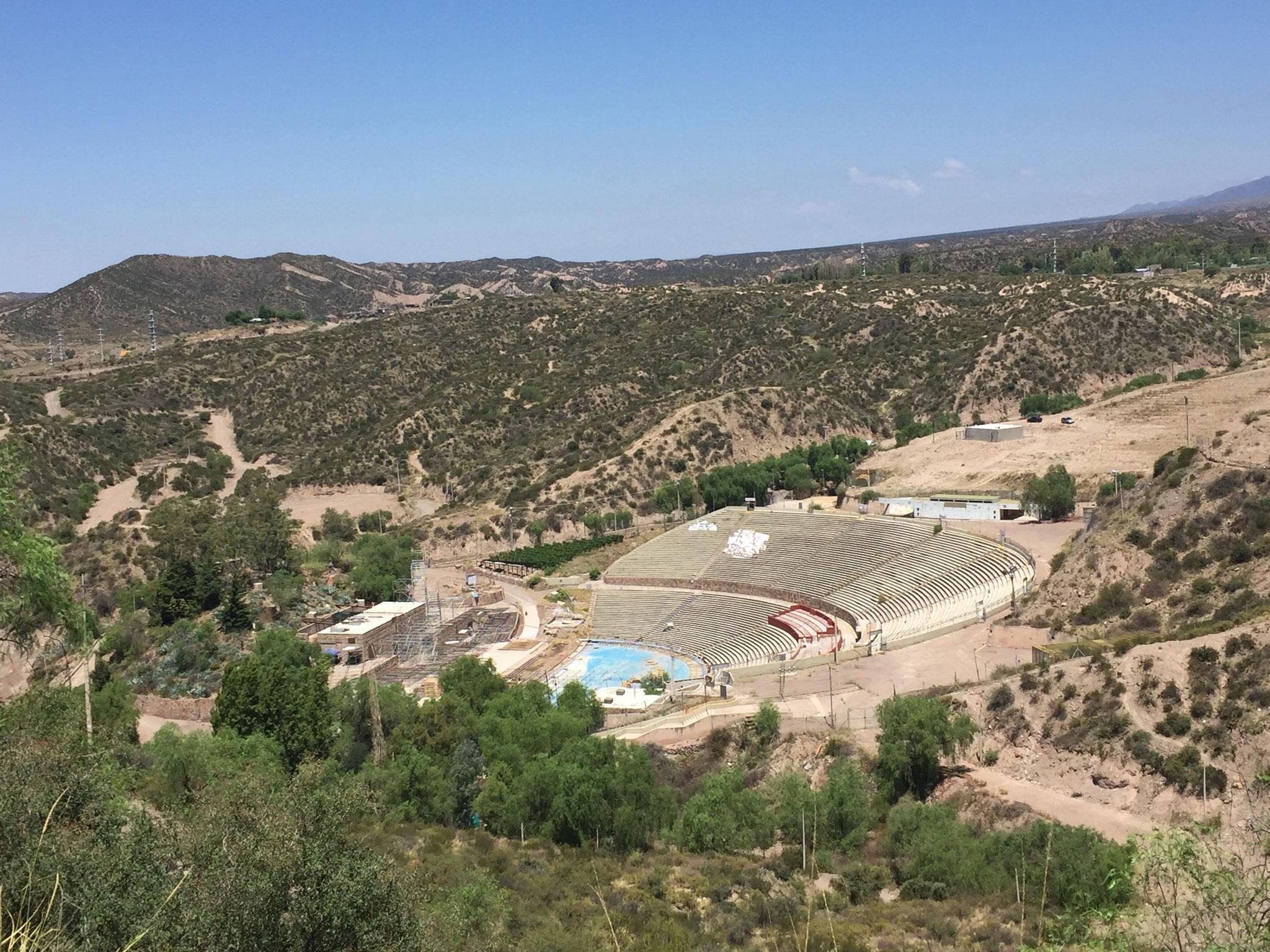 Amphitheater für Weinfest