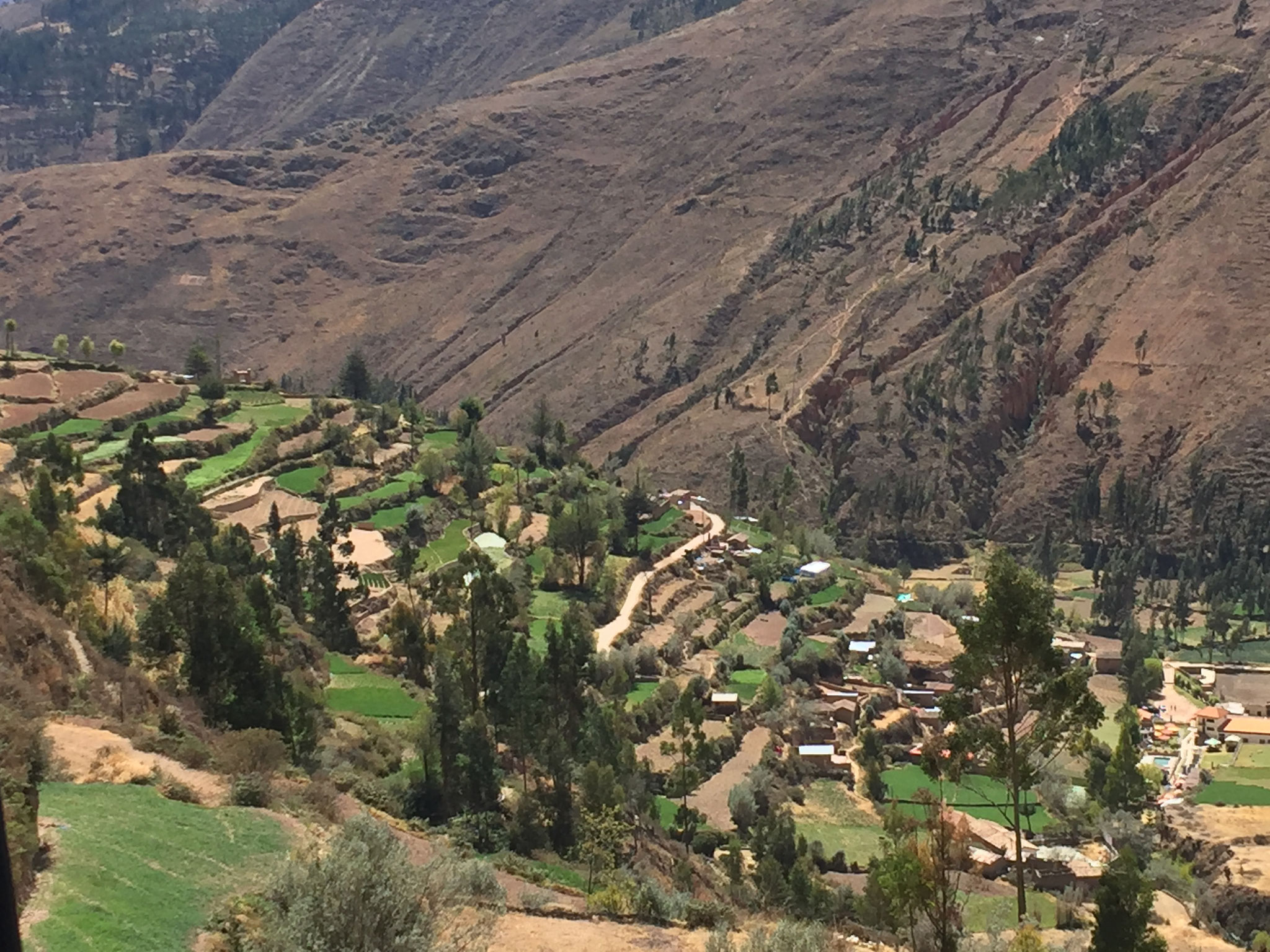 Fruchtbares Tal in Tarma