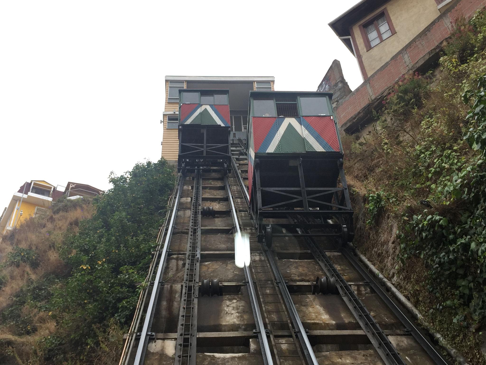 Stadtführung, Valparaiso, Funicular