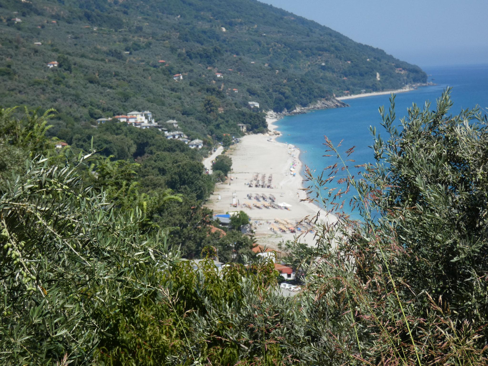 Strand Horefto auf Pilion....
