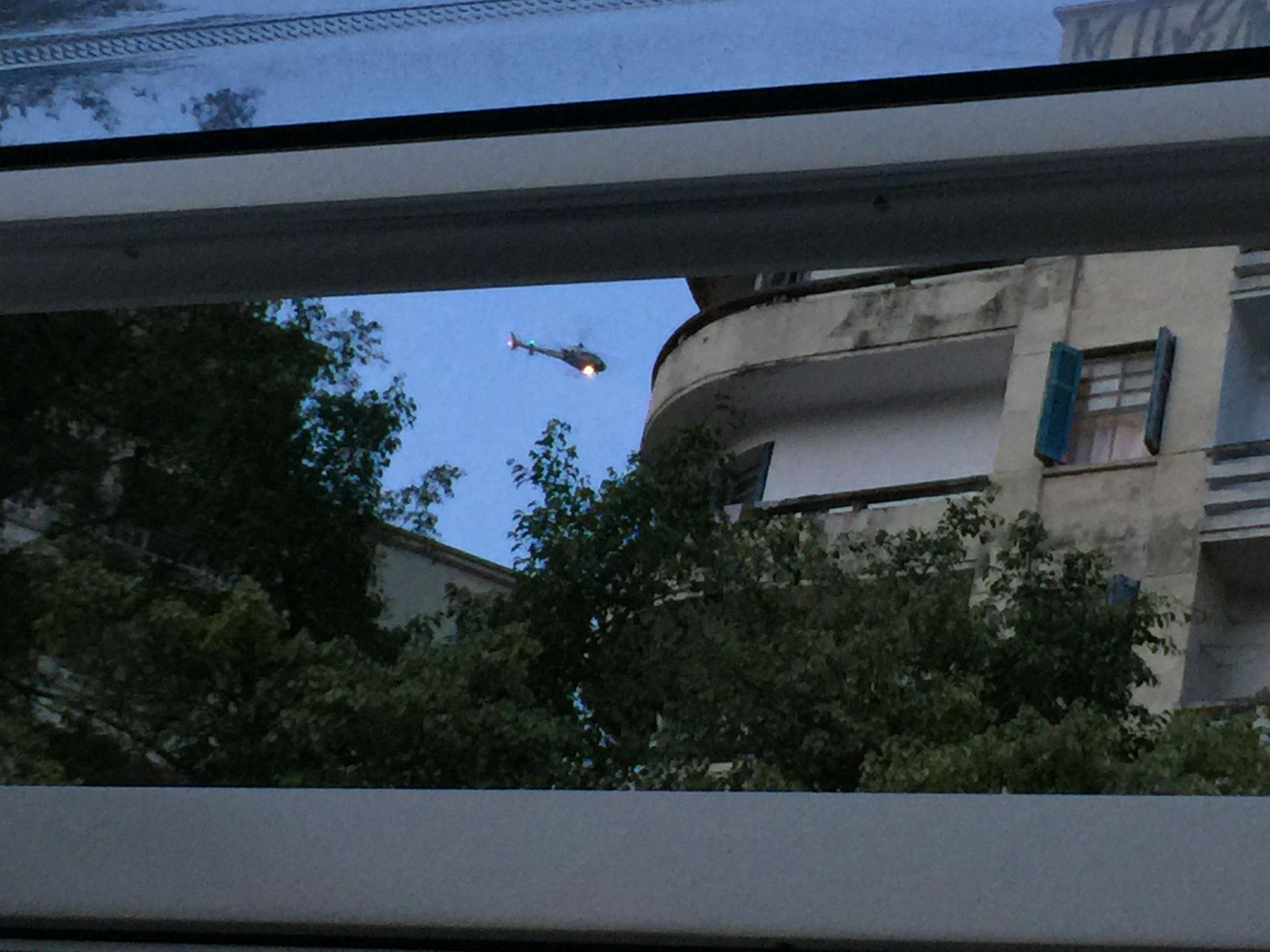 .... mit Helikoptersicht aus dem Stüblifenster!