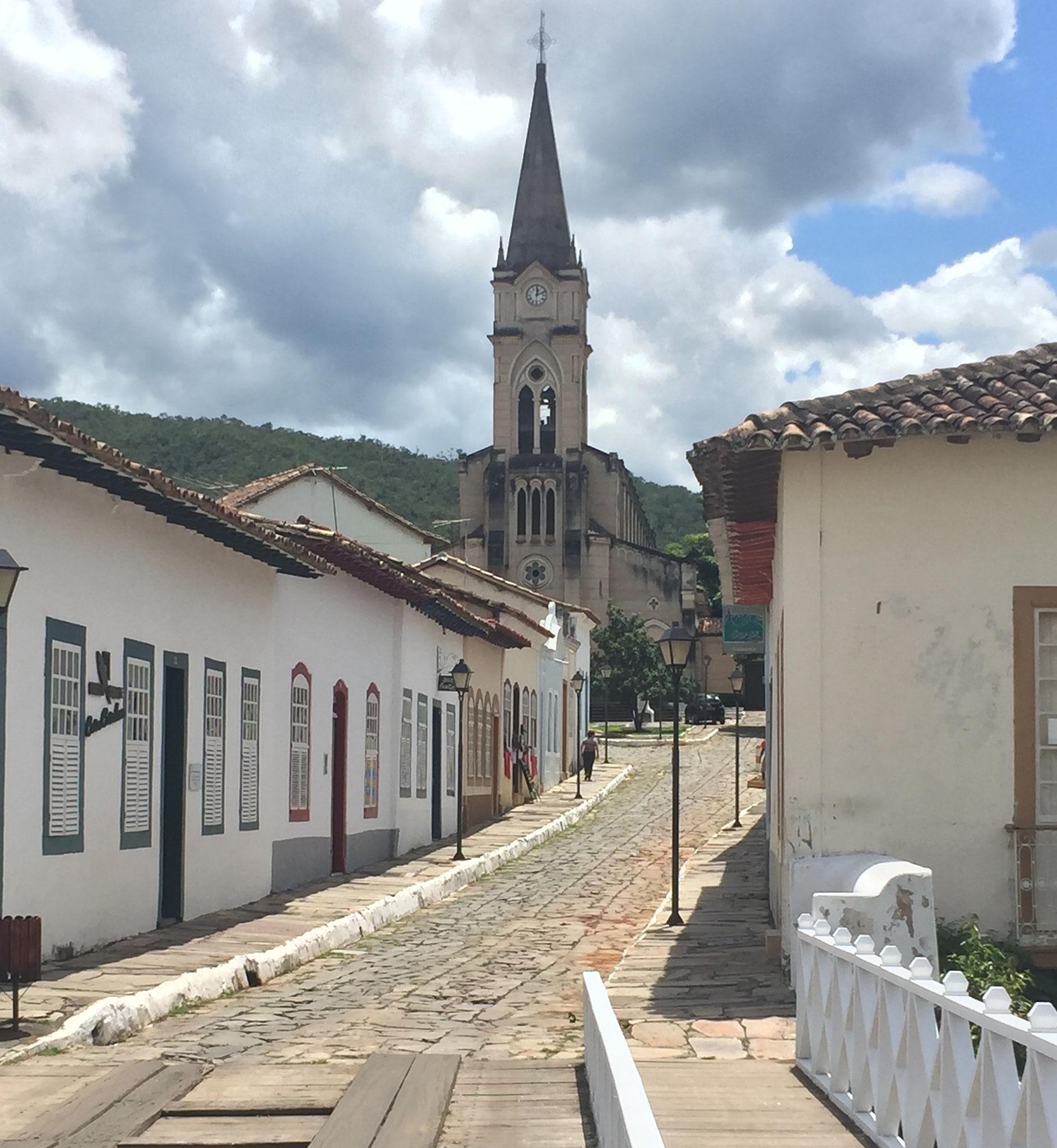 unterwegs ein spanisches Dorf