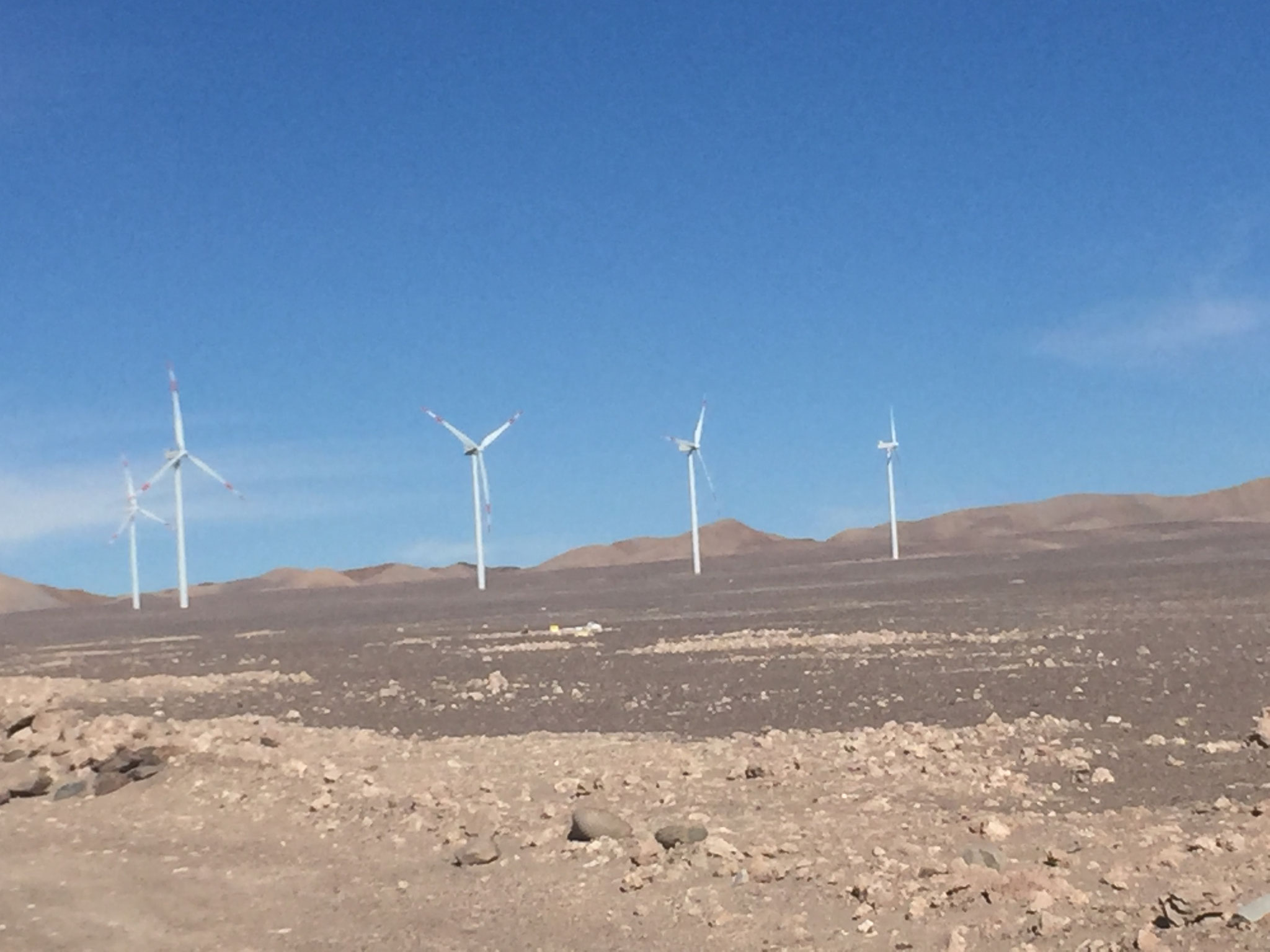 Windräder bei Calama