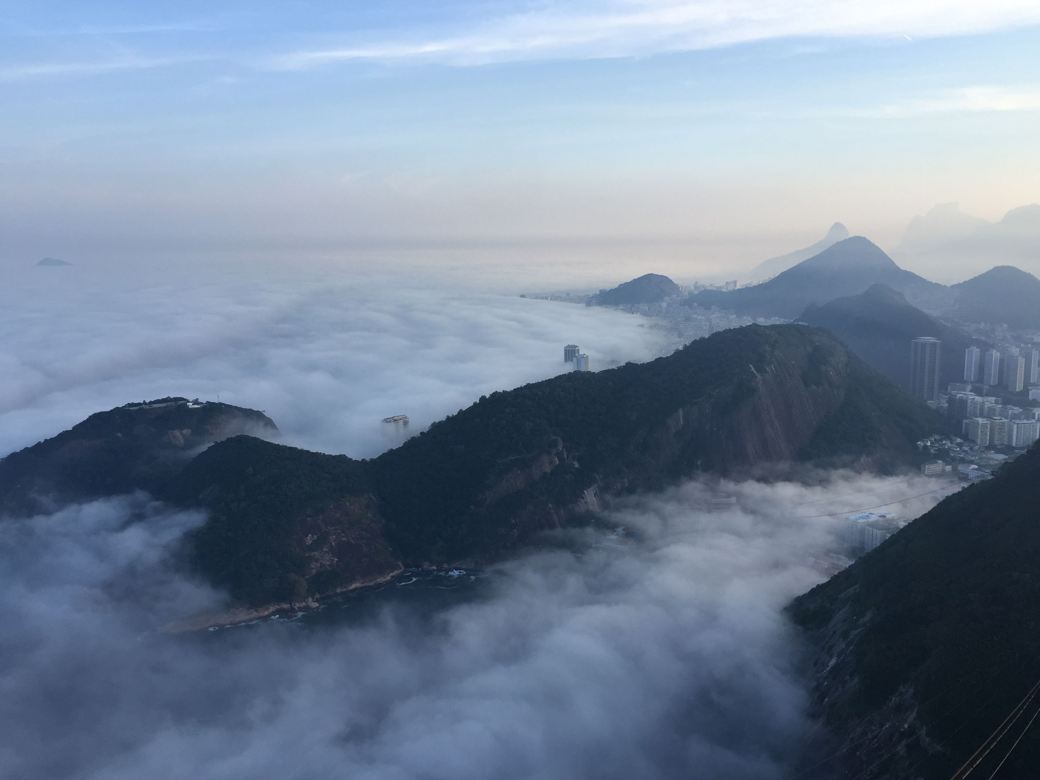 Rio im Nebel