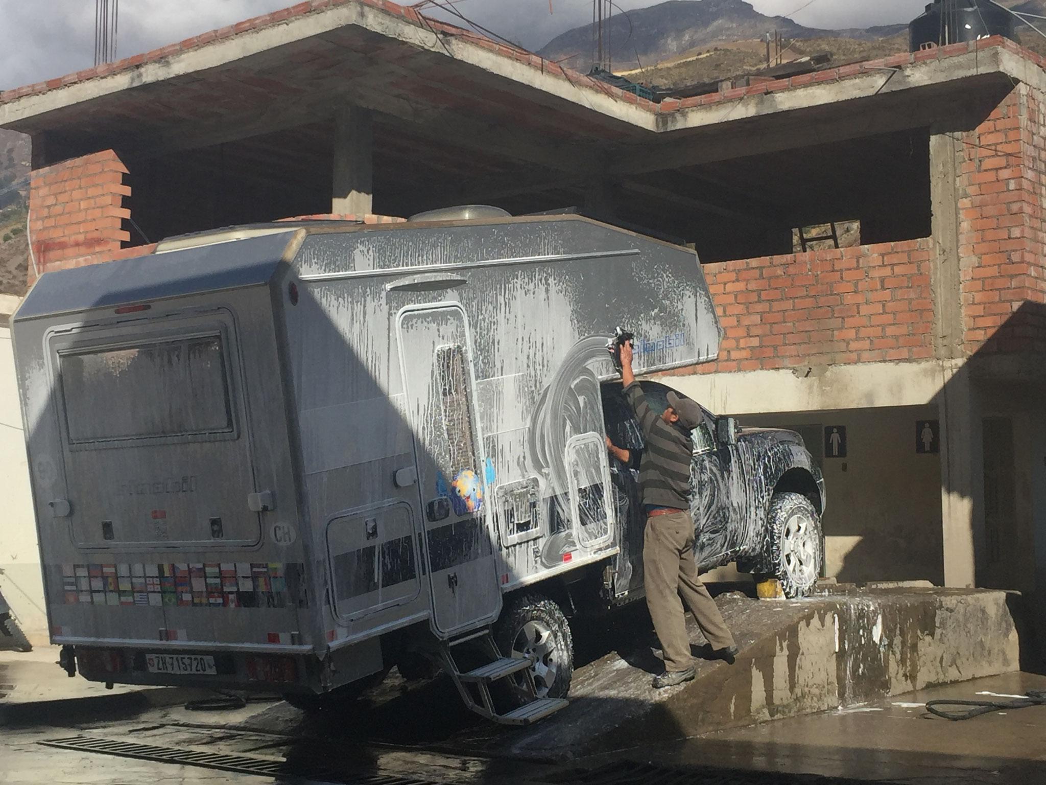 Autowäsche in San Marco