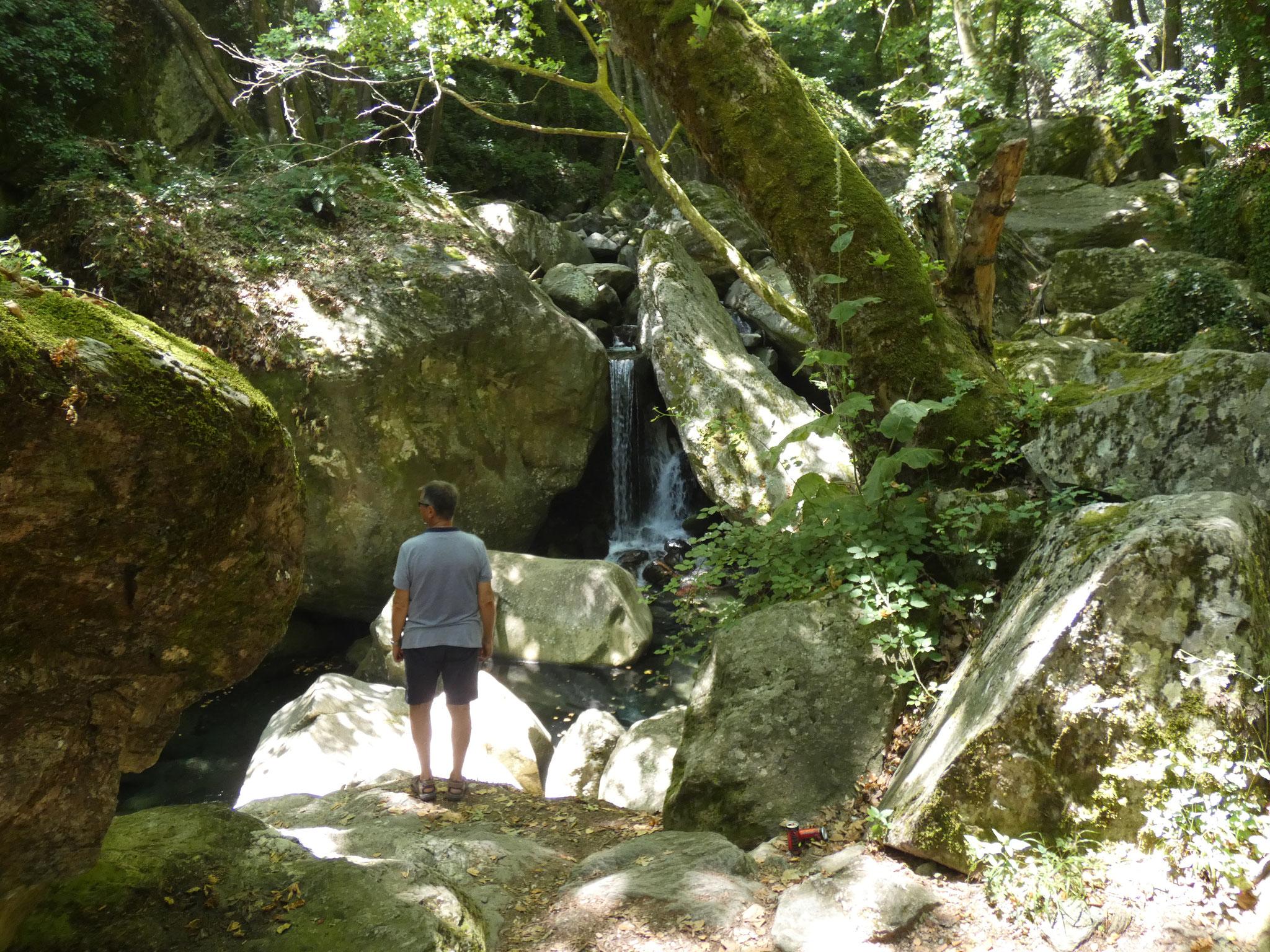 .... mit Wasserfällen