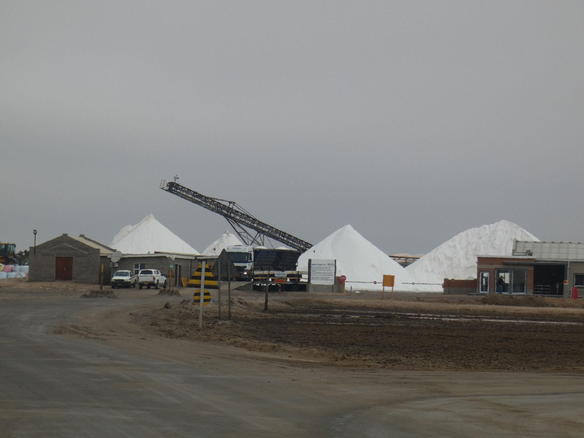 Salzgewinnung auf der Halbinsel