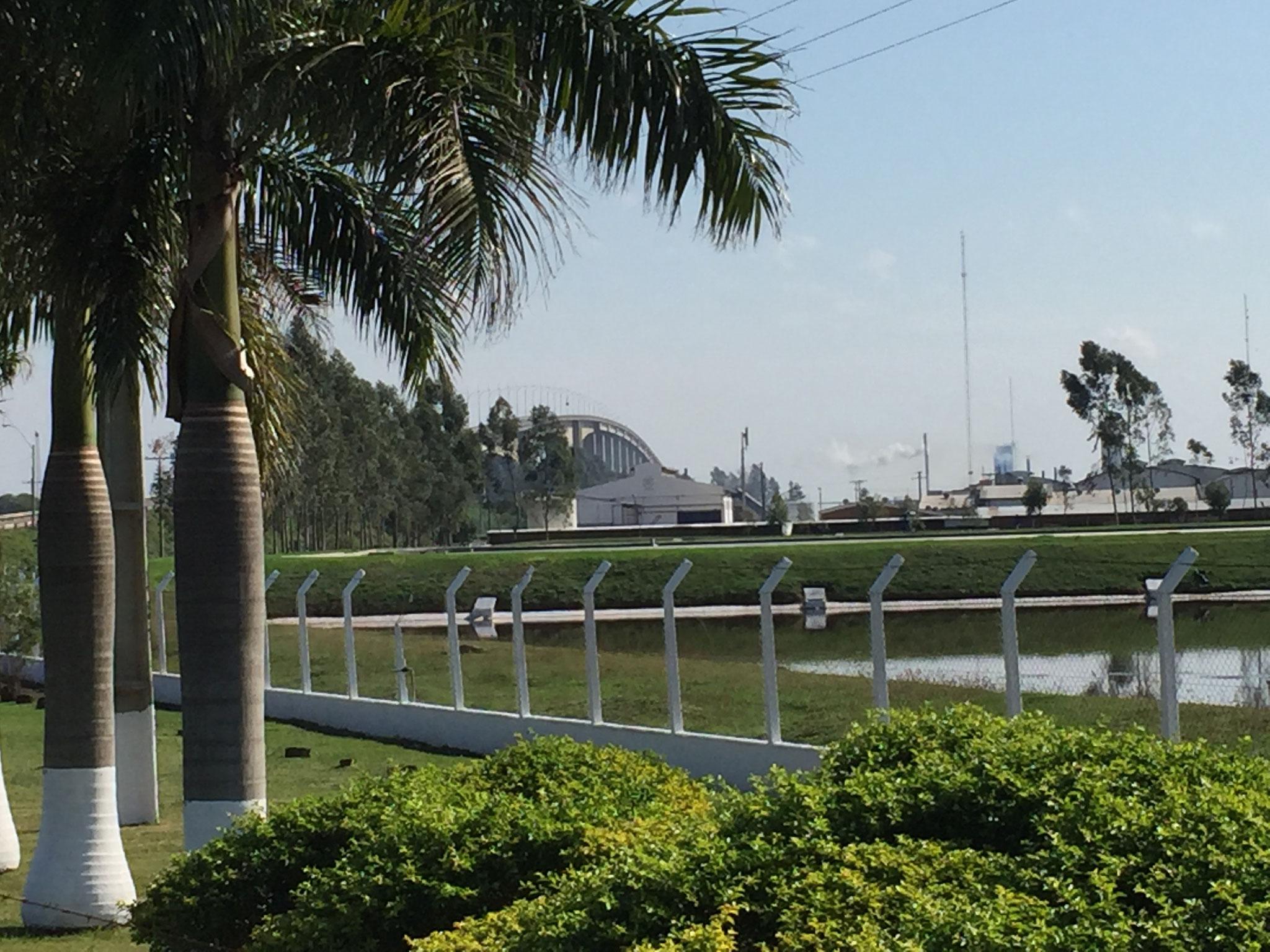 Brücke über den Rio Paraguay